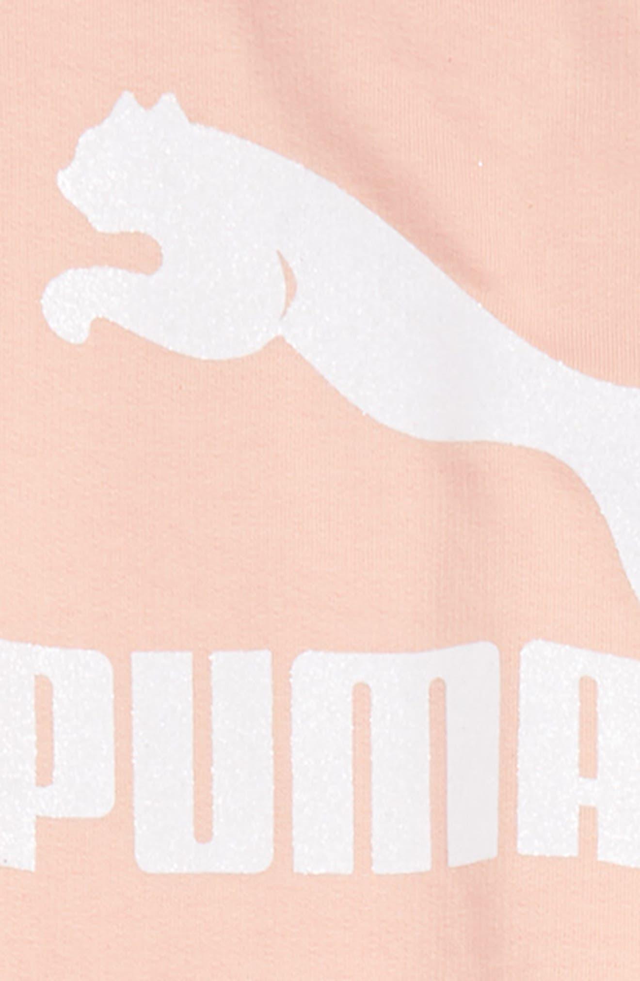 Fleece Sweatshirt and Sweatpants Set,                             Alternate thumbnail 2, color,                             PEACH BEIGE