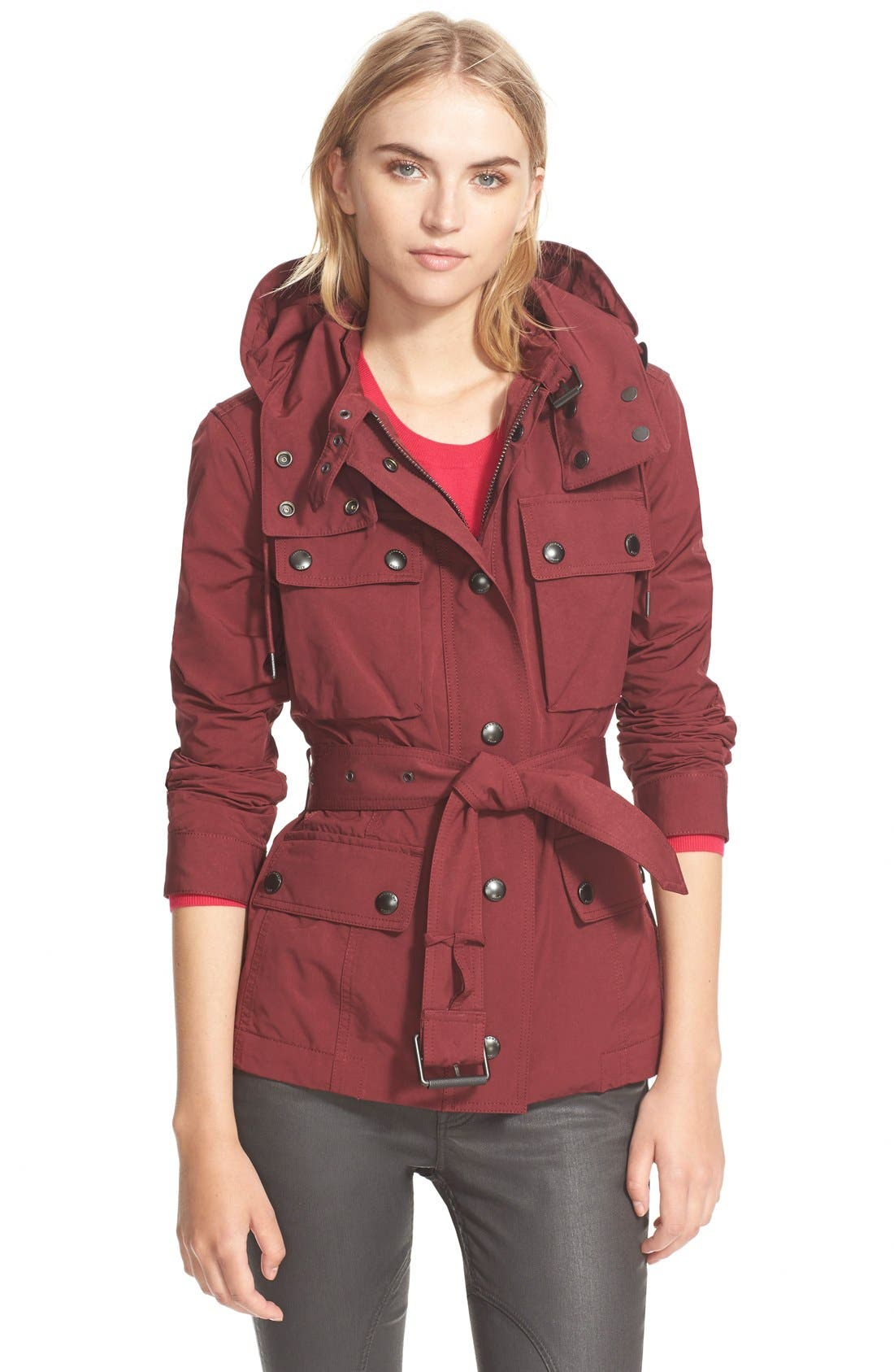 'Fenbridge' Belted Jacket,                             Main thumbnail 2, color,