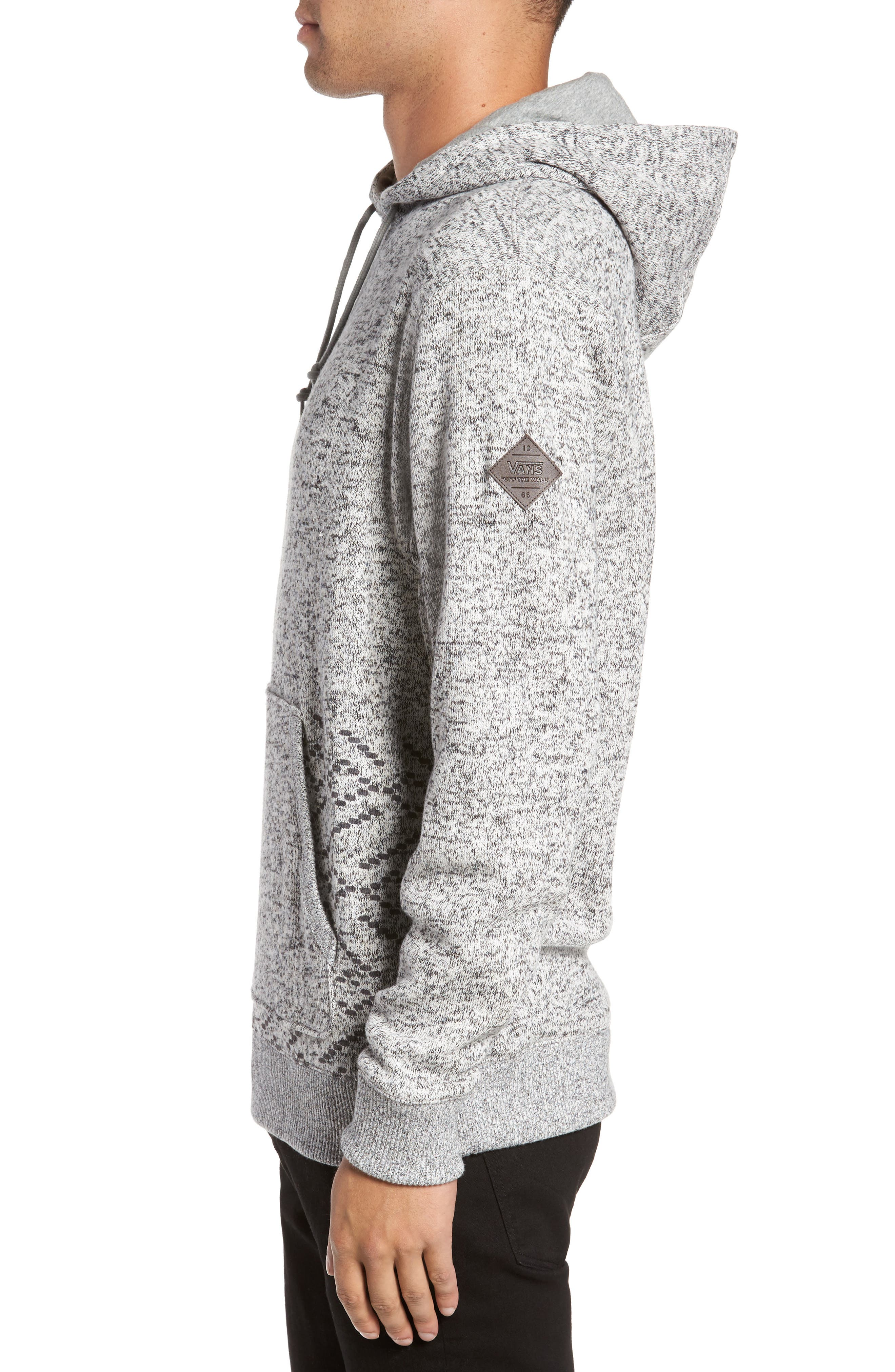 Brookstone Geo Print Hoodie,                             Alternate thumbnail 3, color,                             020