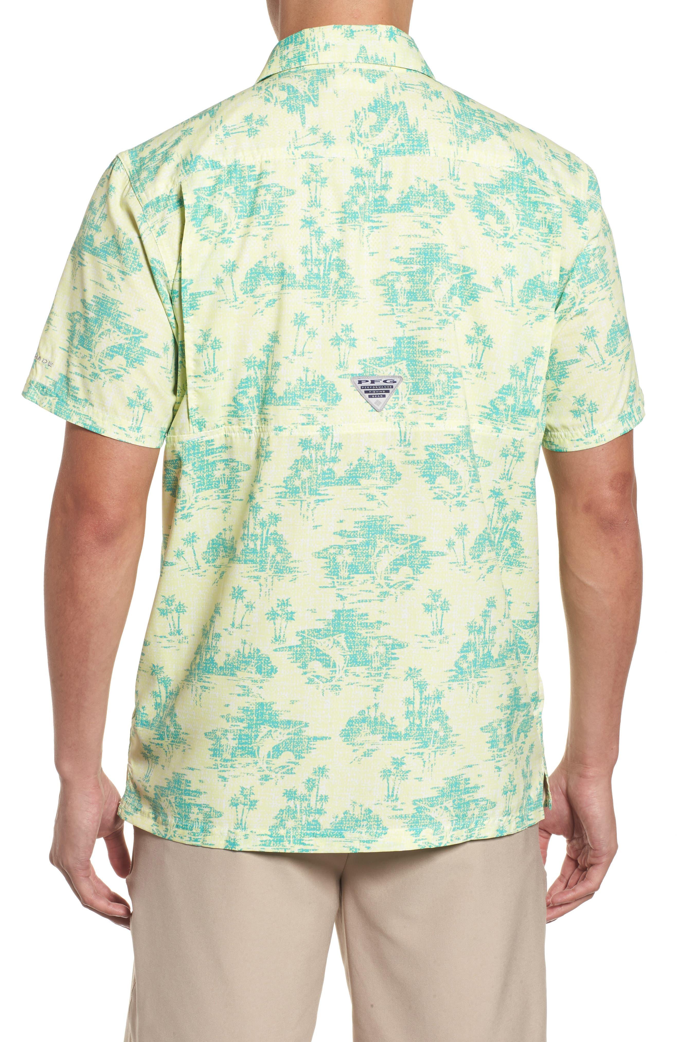 Super Slack Tide Patterned Woven Shirt,                             Alternate thumbnail 7, color,