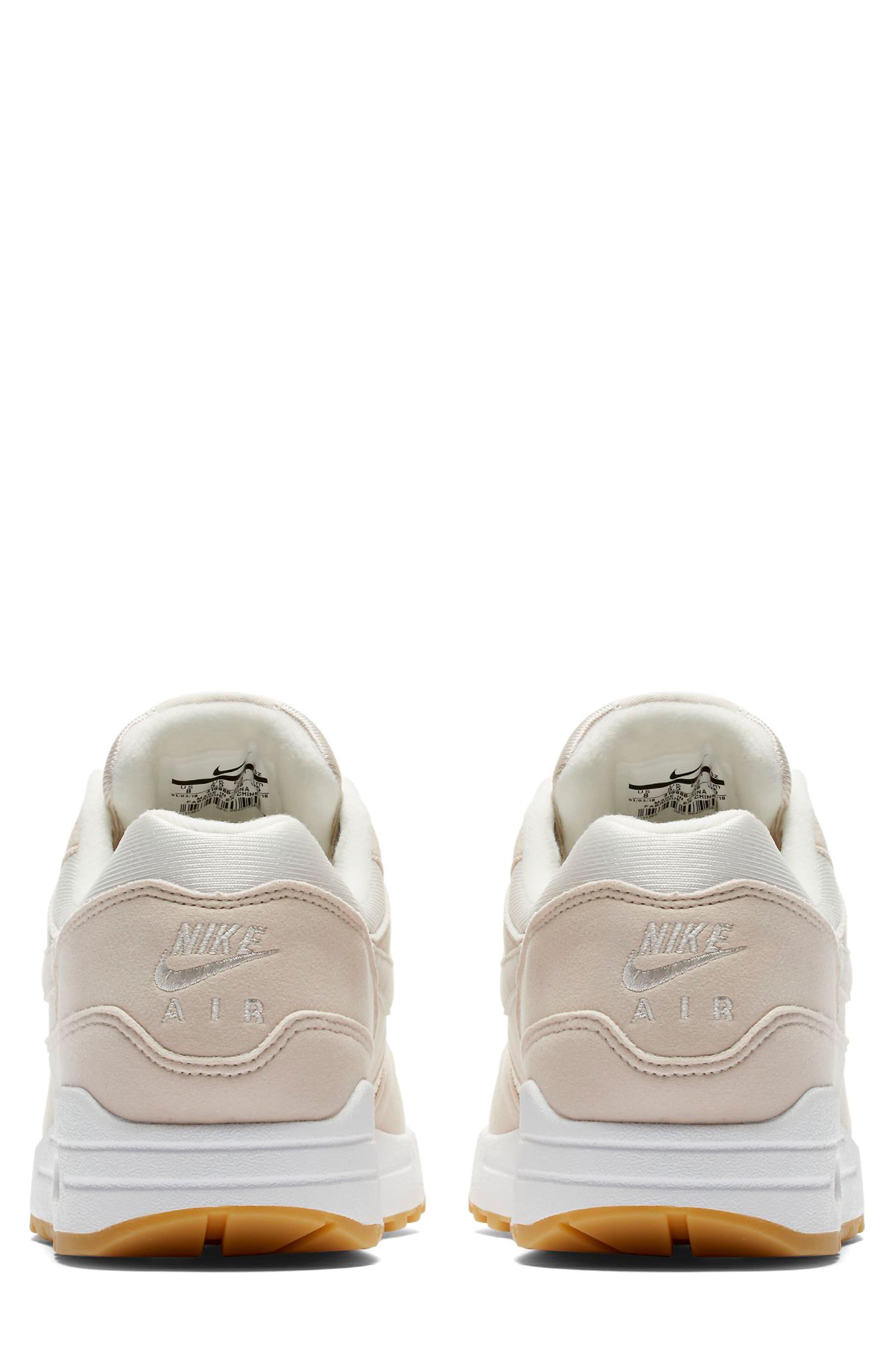 Air Max 1 Sneaker,                             Alternate thumbnail 2, color,                             DESERT SAND