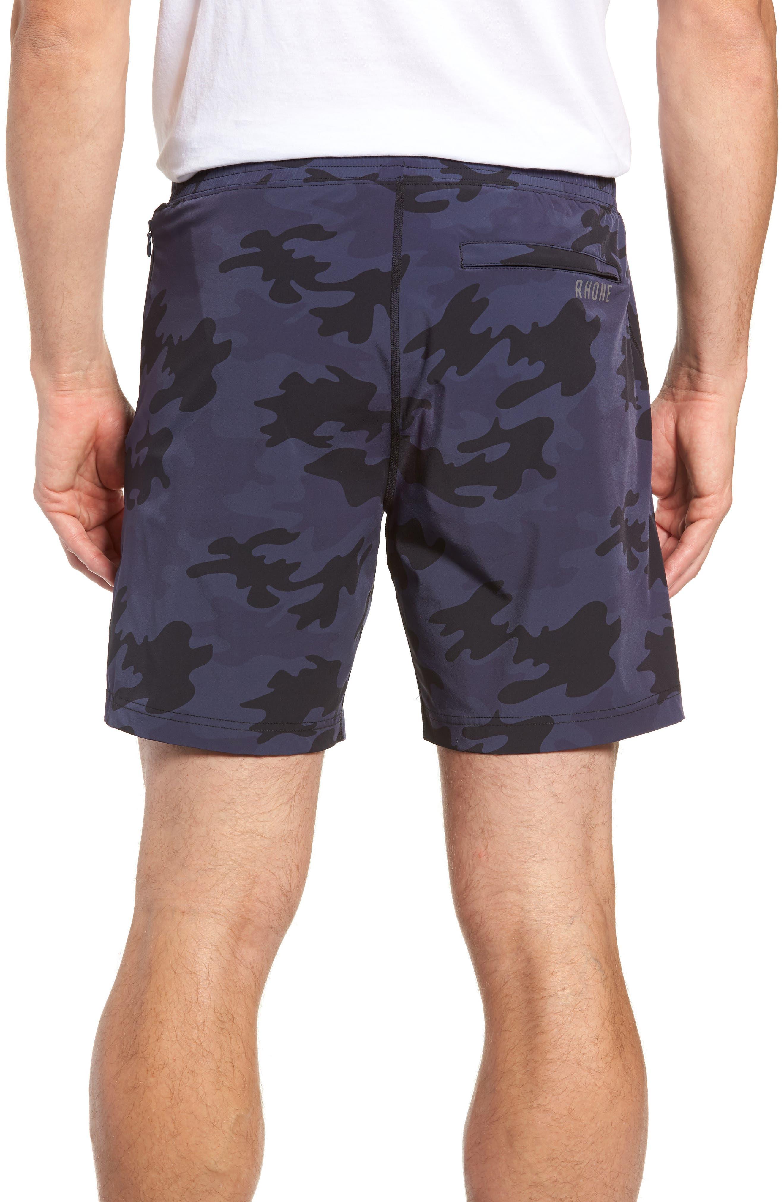 Mako Training Shorts,                             Alternate thumbnail 2, color,                             NAVY CAMO