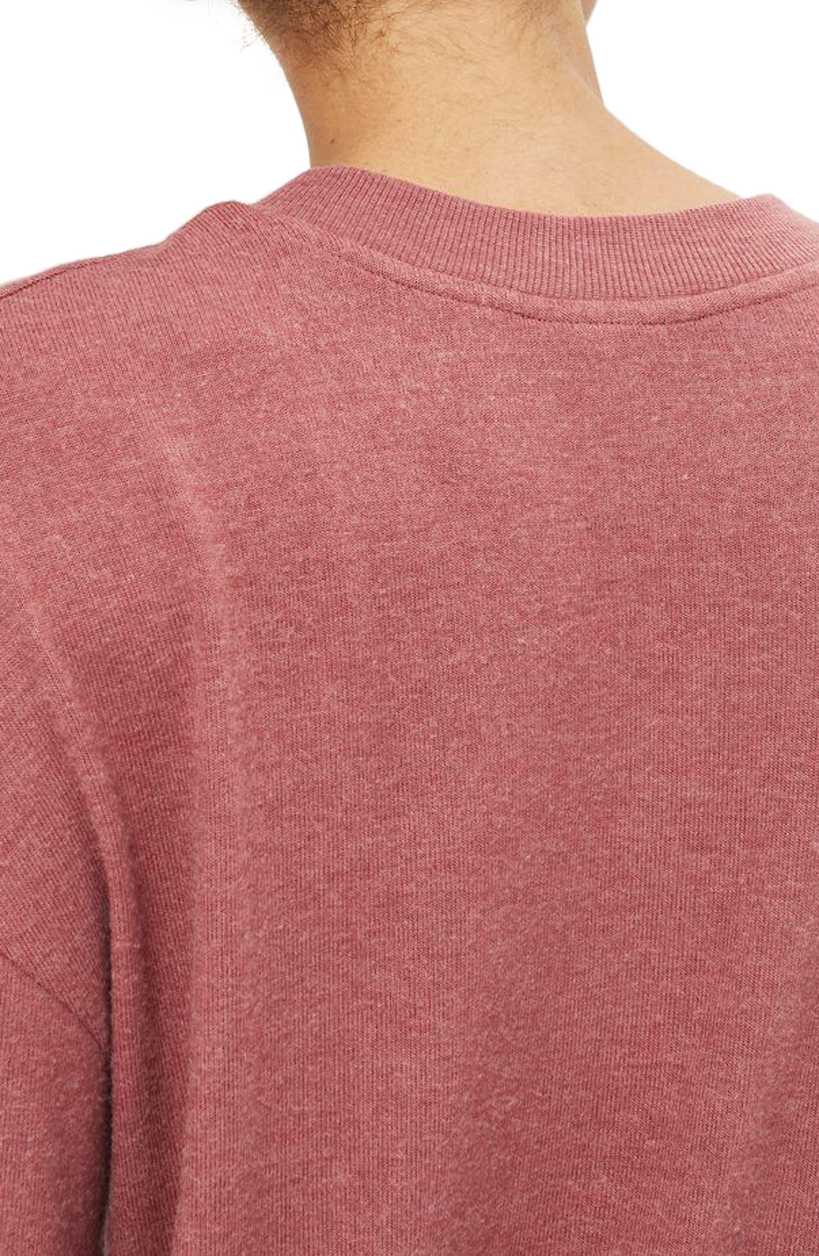 Rose Sweatshirt,                             Alternate thumbnail 2, color,                             650