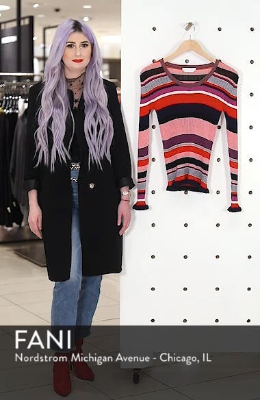 Fallegria Stripe Sweater, sales video thumbnail