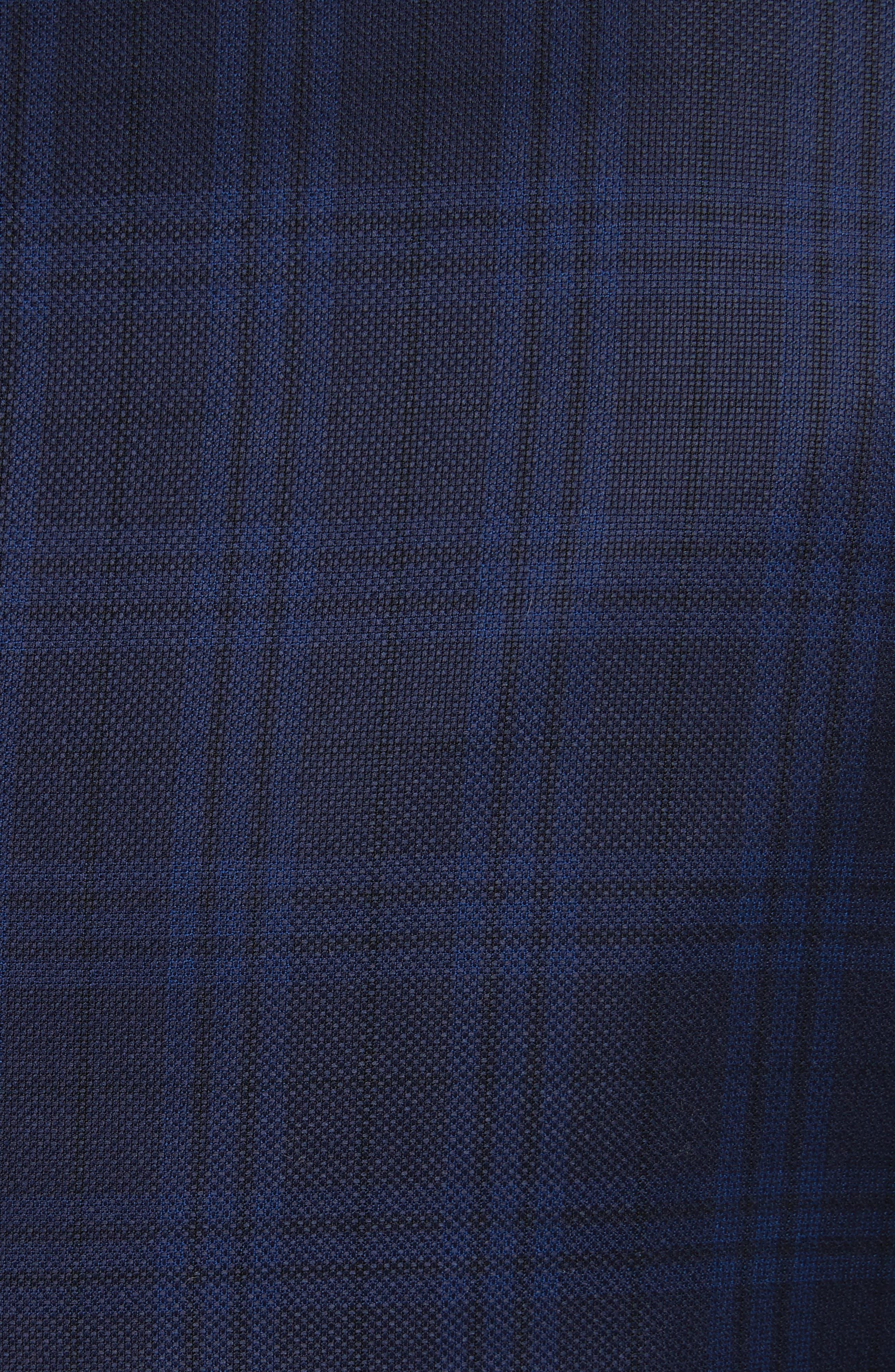 G-Line Trim Fit Houndstooth Wool Sport Coat,                             Alternate thumbnail 5, color,                             410