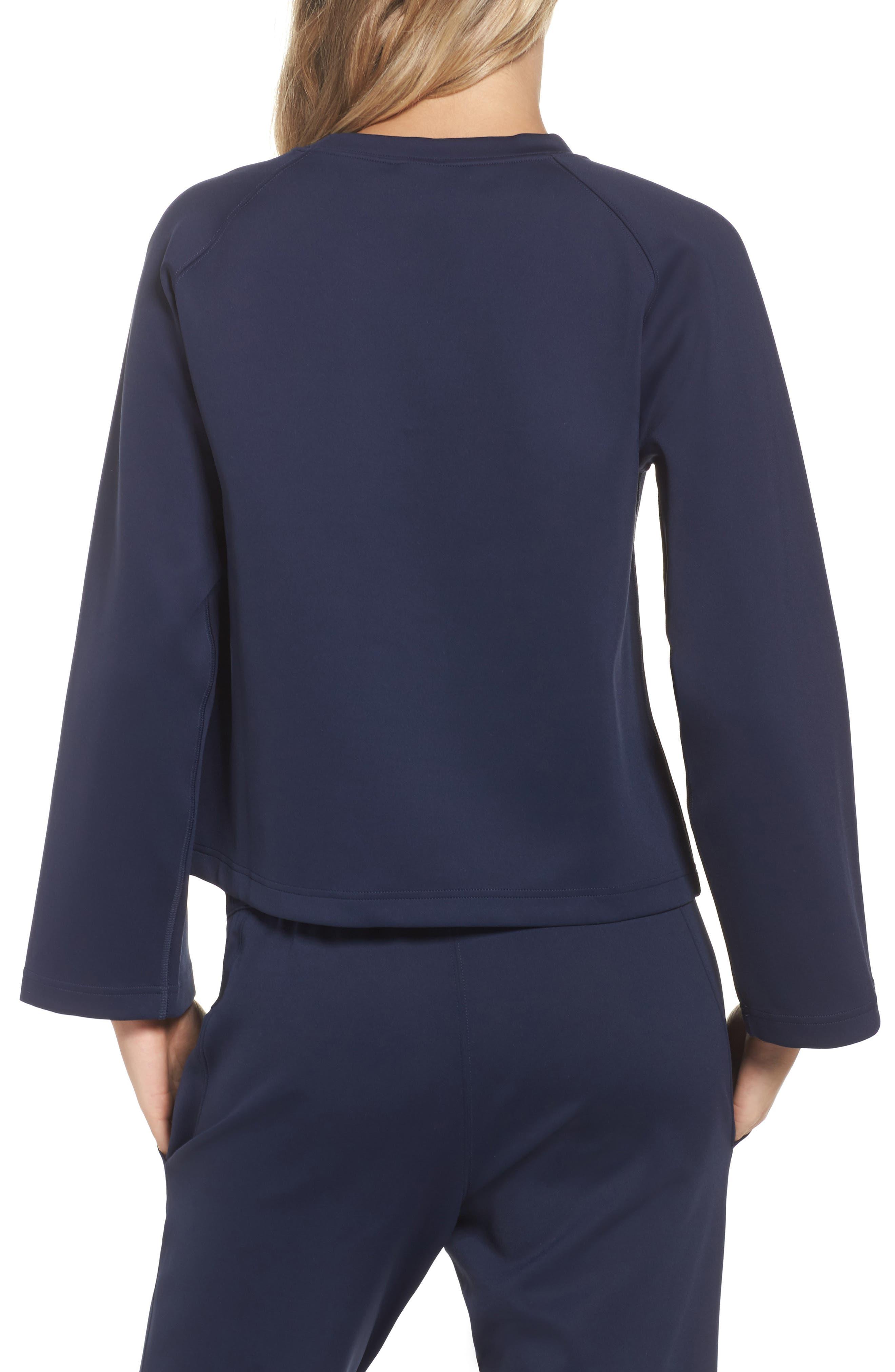 NikeLab Essentials Women's Fleece Top,                             Alternate thumbnail 4, color,