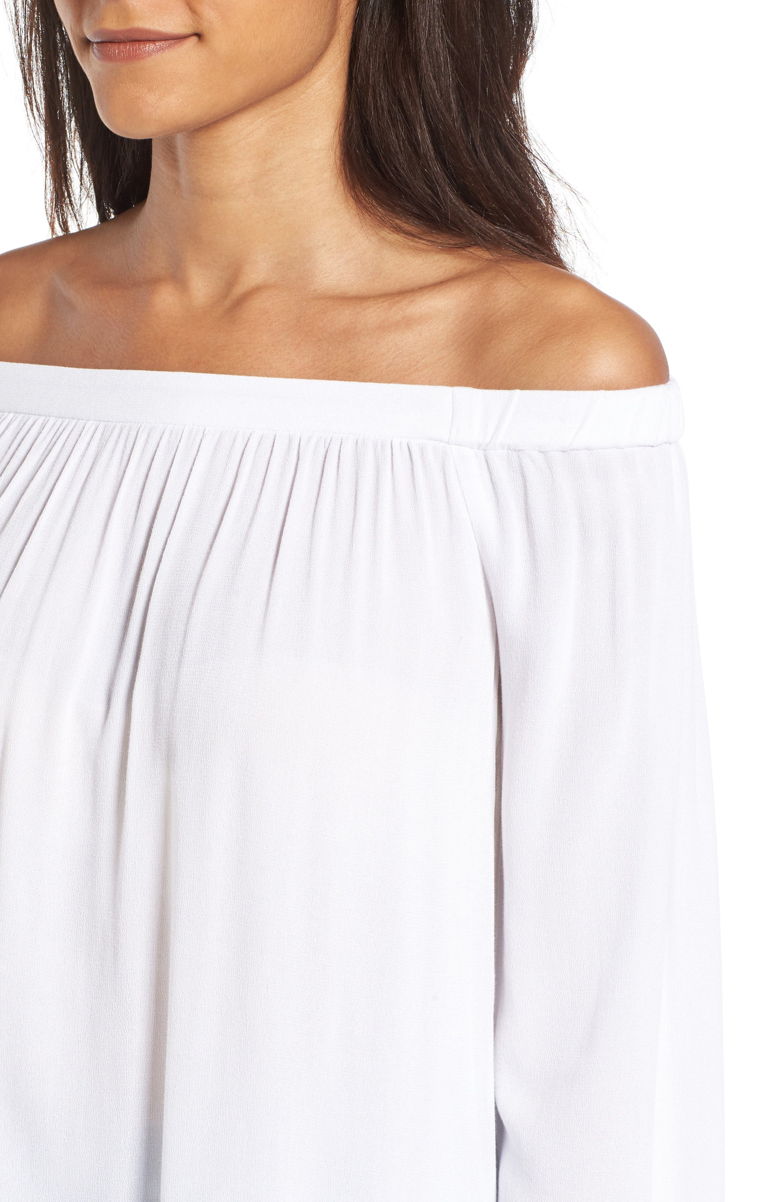 Off the Shoulder Tunic,                             Alternate thumbnail 27, color,