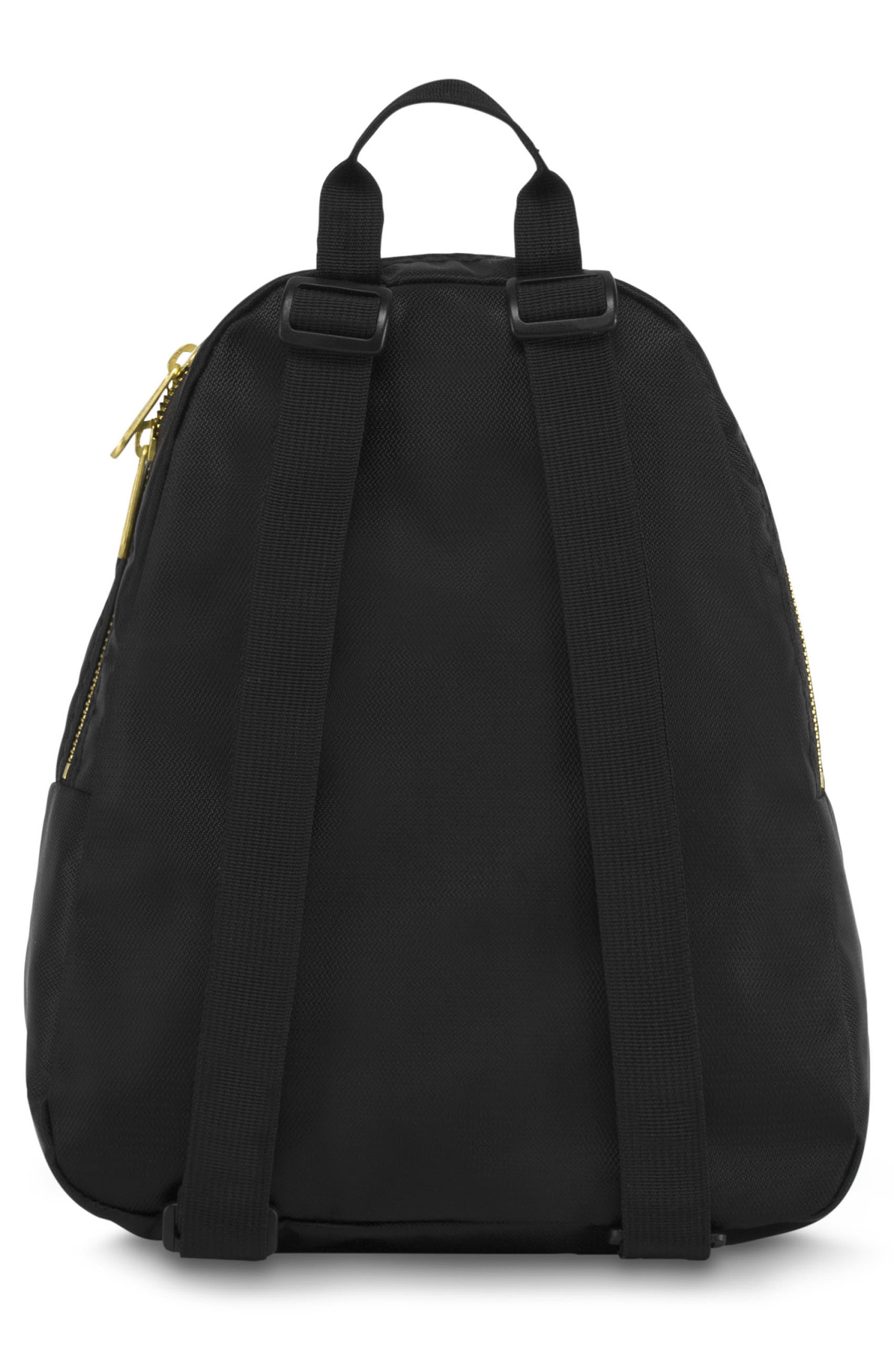 Half Pint FX Backpack,                             Alternate thumbnail 3, color,                             BLACK GOLD