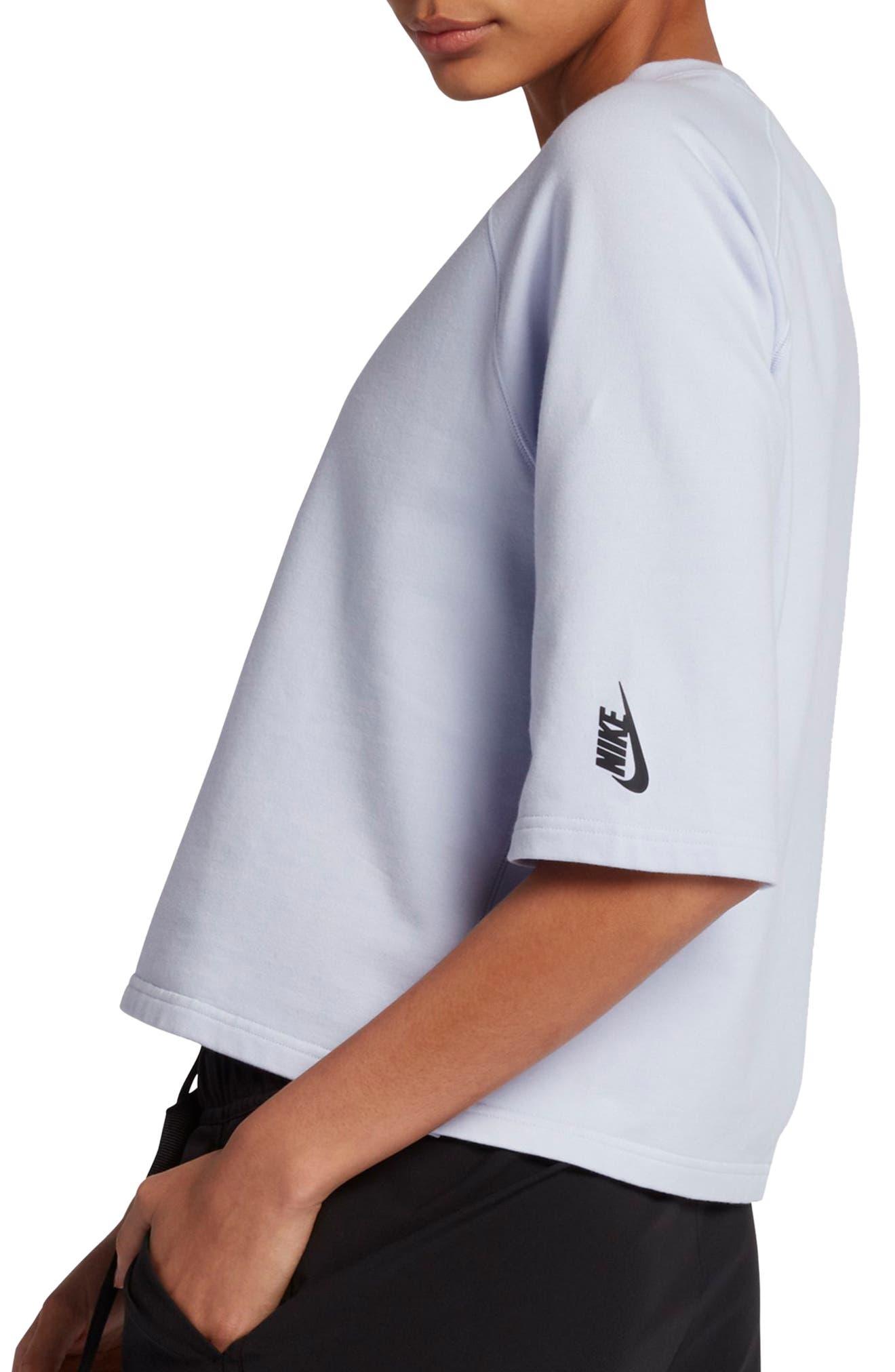 NikeLab Essential Fleece Top,                             Alternate thumbnail 12, color,