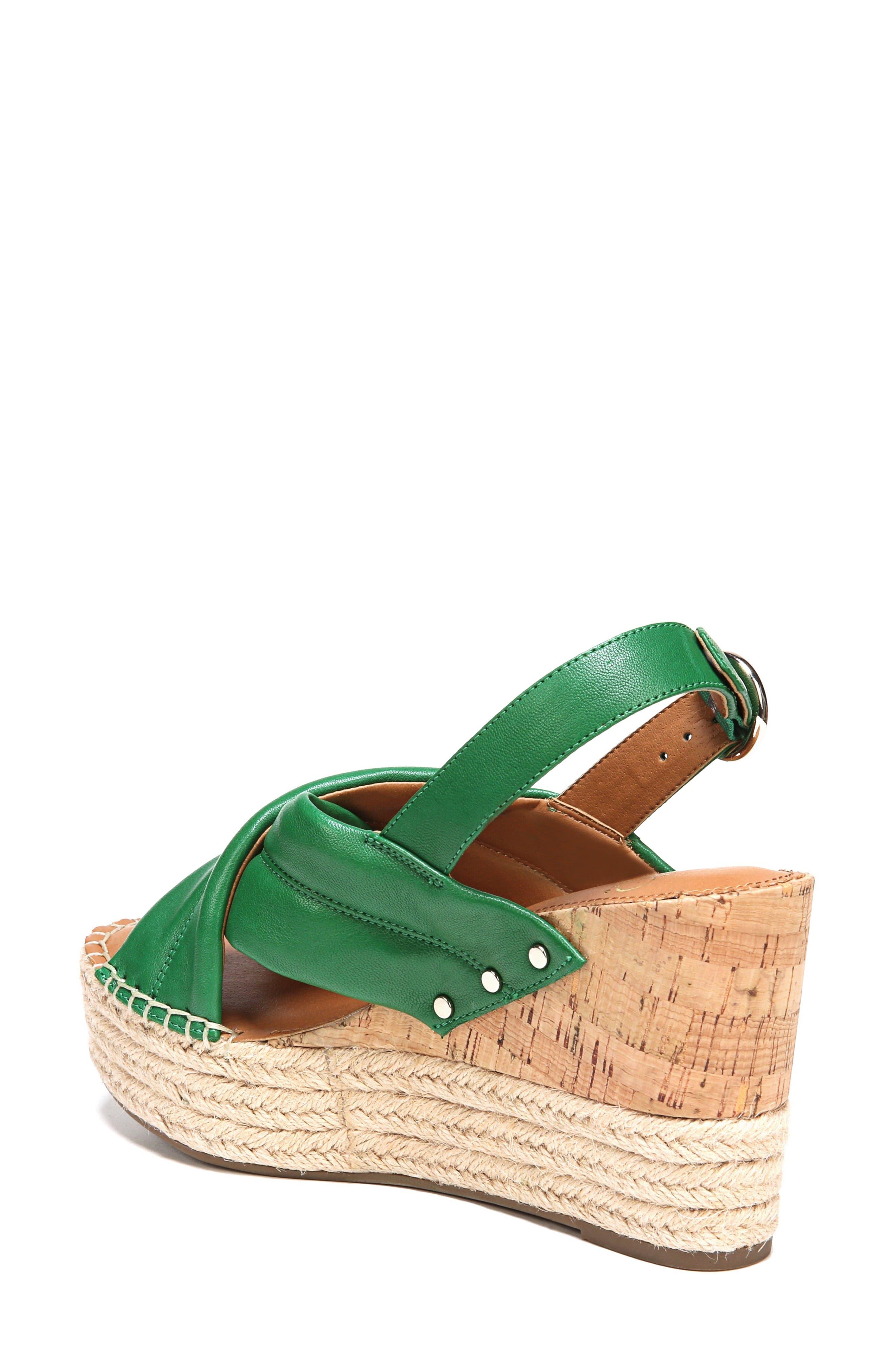 Niva Espadrille Wedge Sandal,                             Alternate thumbnail 7, color,