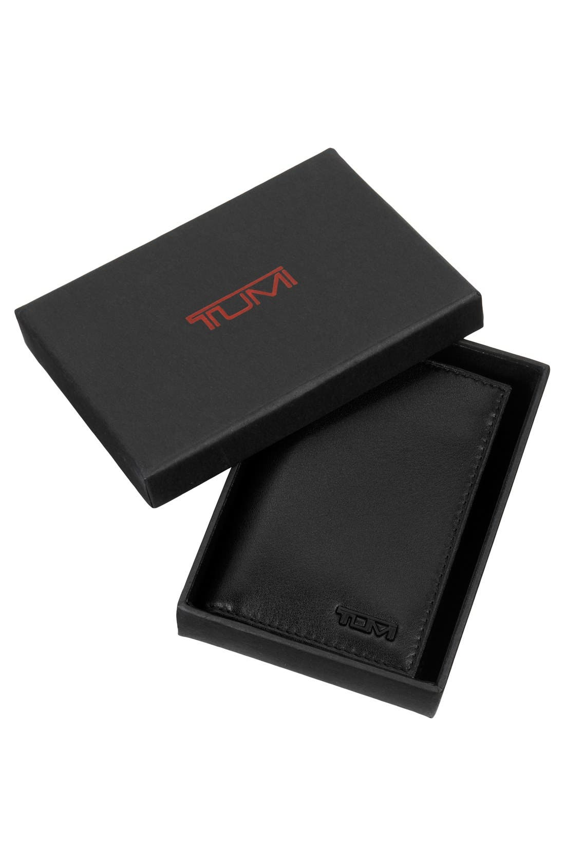 Delta - ID Lock<sup>™</sup> Shielded Multi Window Card Case,                             Alternate thumbnail 8, color,                             BLACK