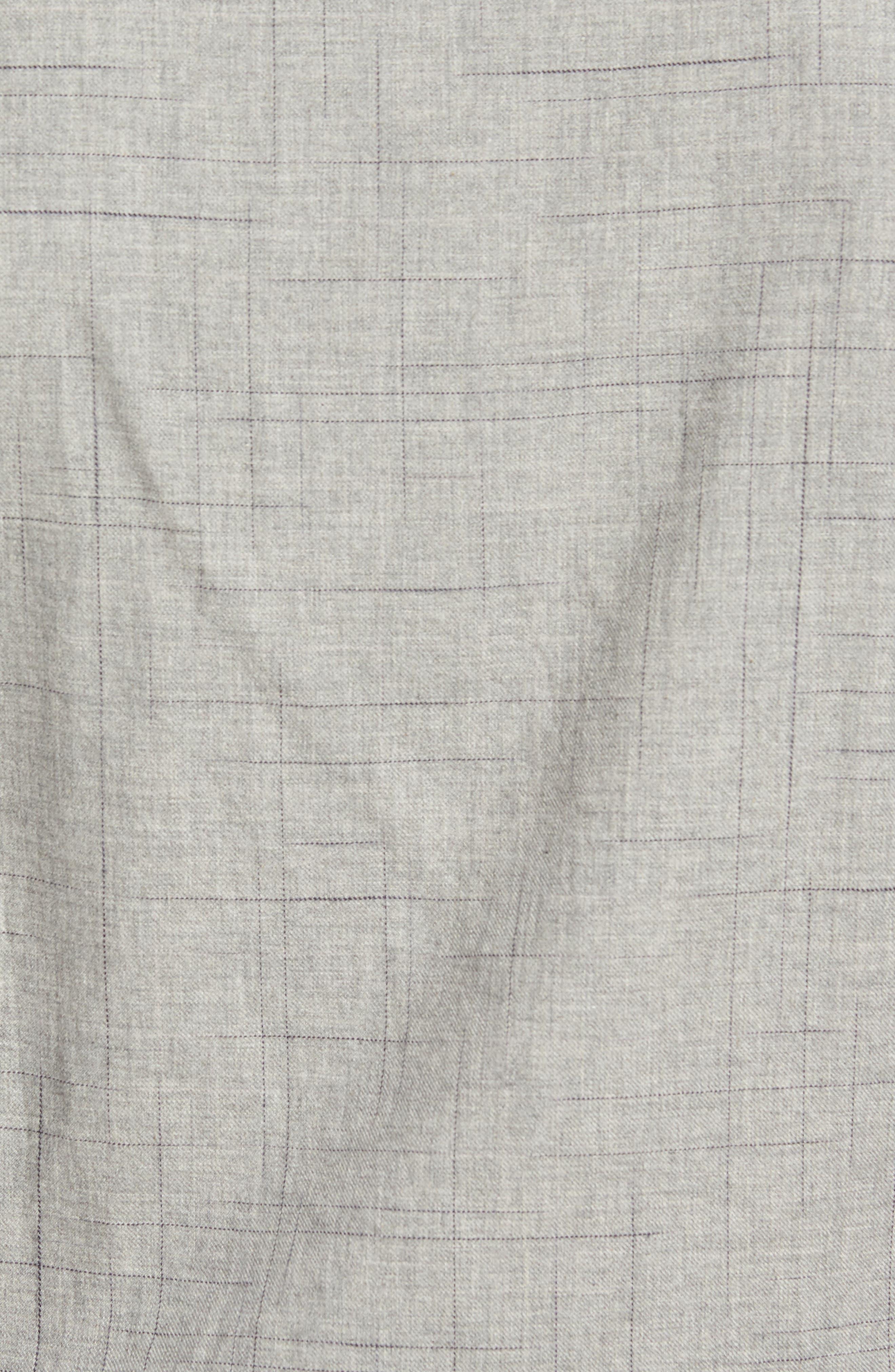 Broken Plaid Sport Shirt,                             Alternate thumbnail 5, color,                             092