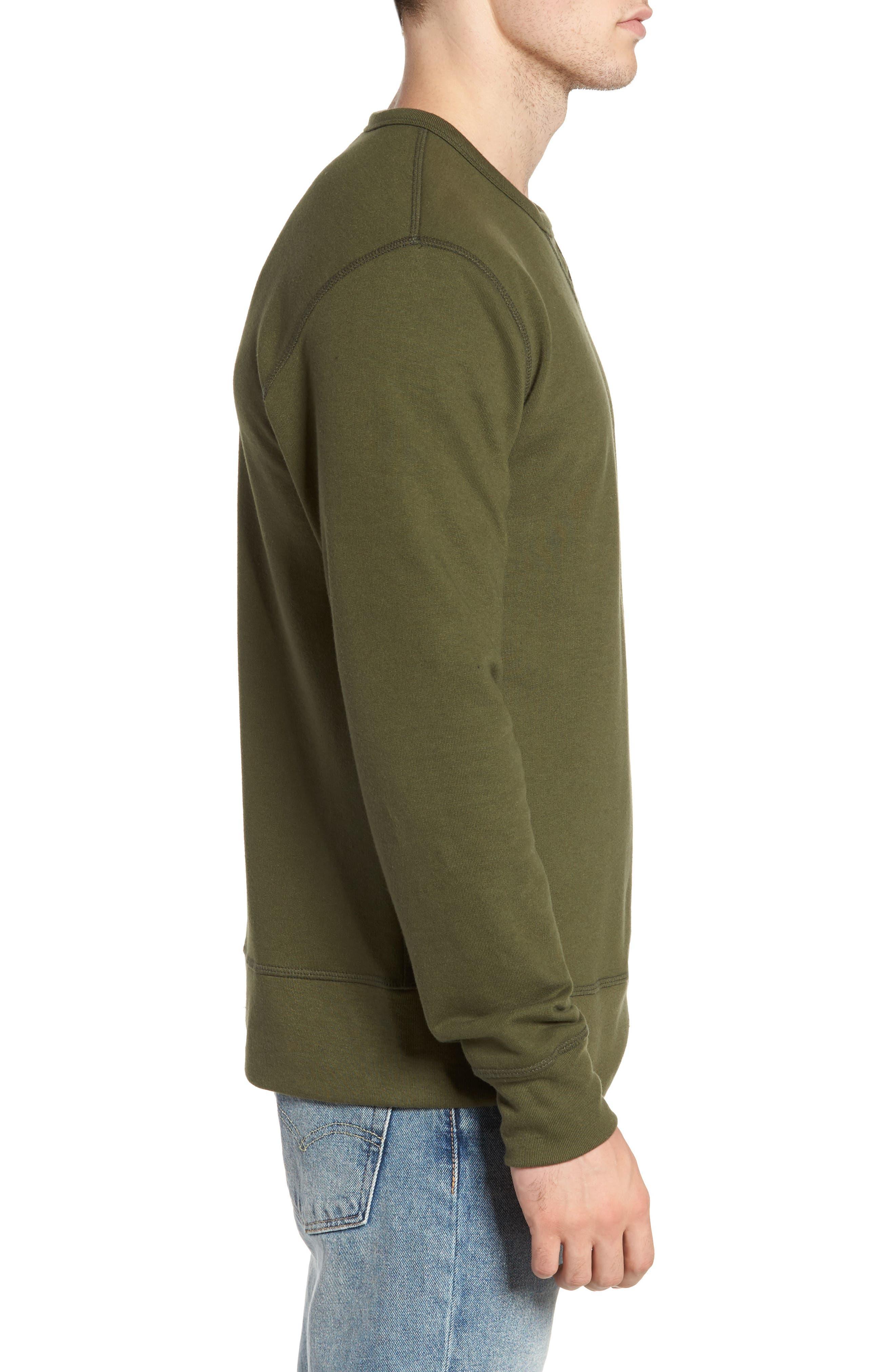 B-Side Reversible Crewneck Sweatshirt,                             Alternate thumbnail 18, color,