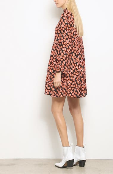 Print Crepe Dress, video thumbnail