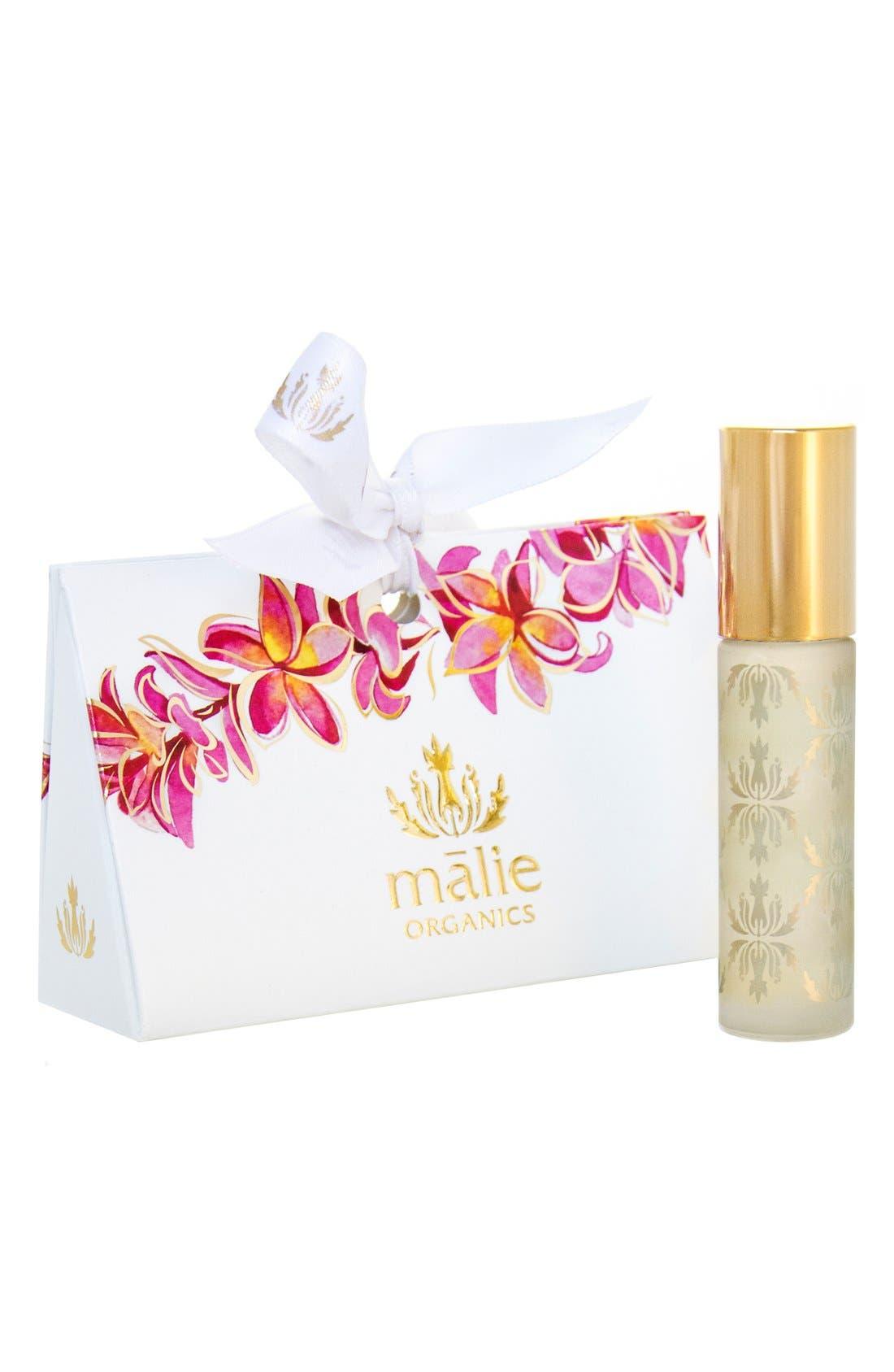 Plumeria Organic Roll-On Perfume Oil,                         Main,                         color,