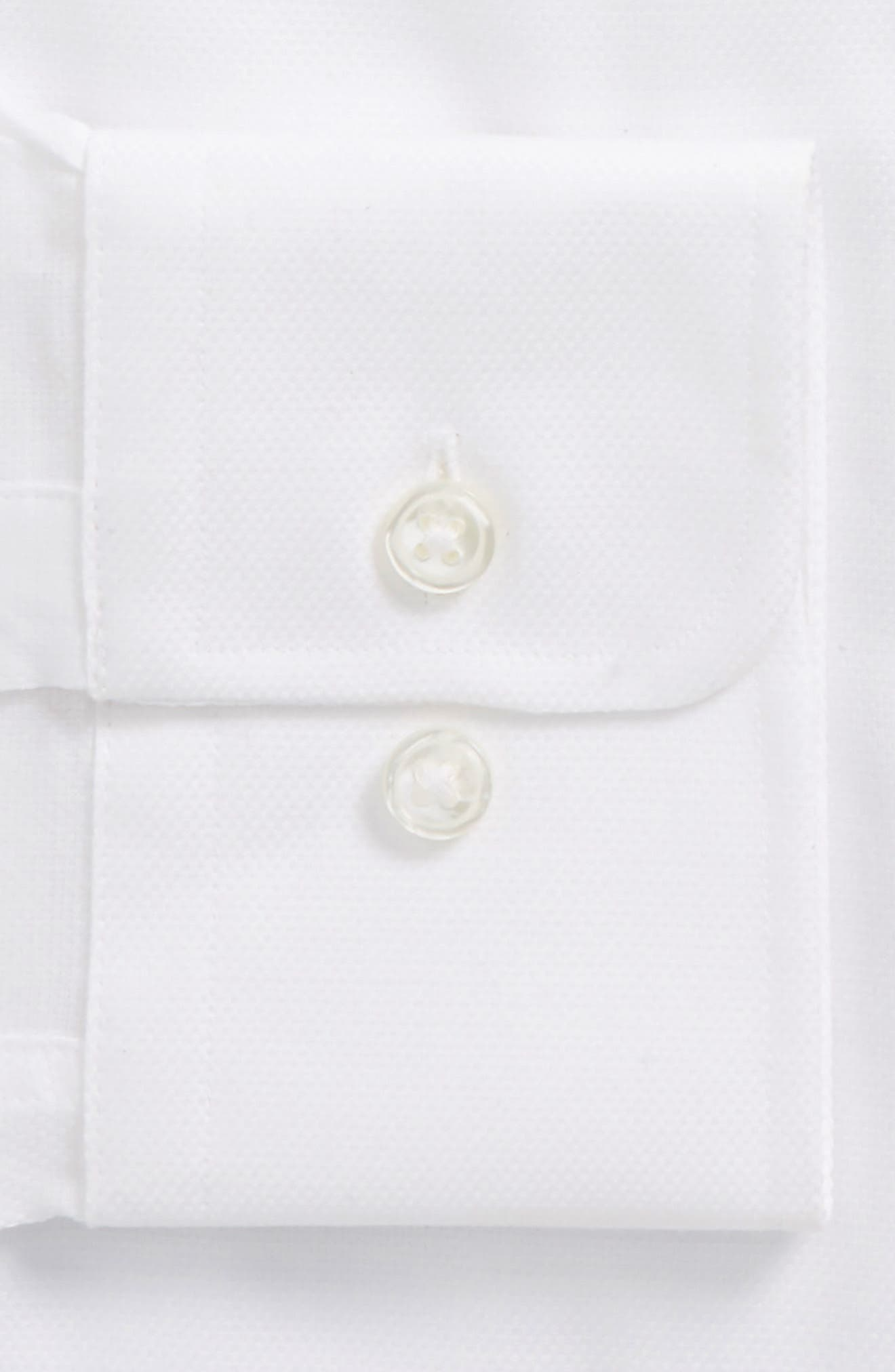 BOSS,                             Marley Sharp Fit Dress Shirt,                             Alternate thumbnail 2, color,                             WHITE