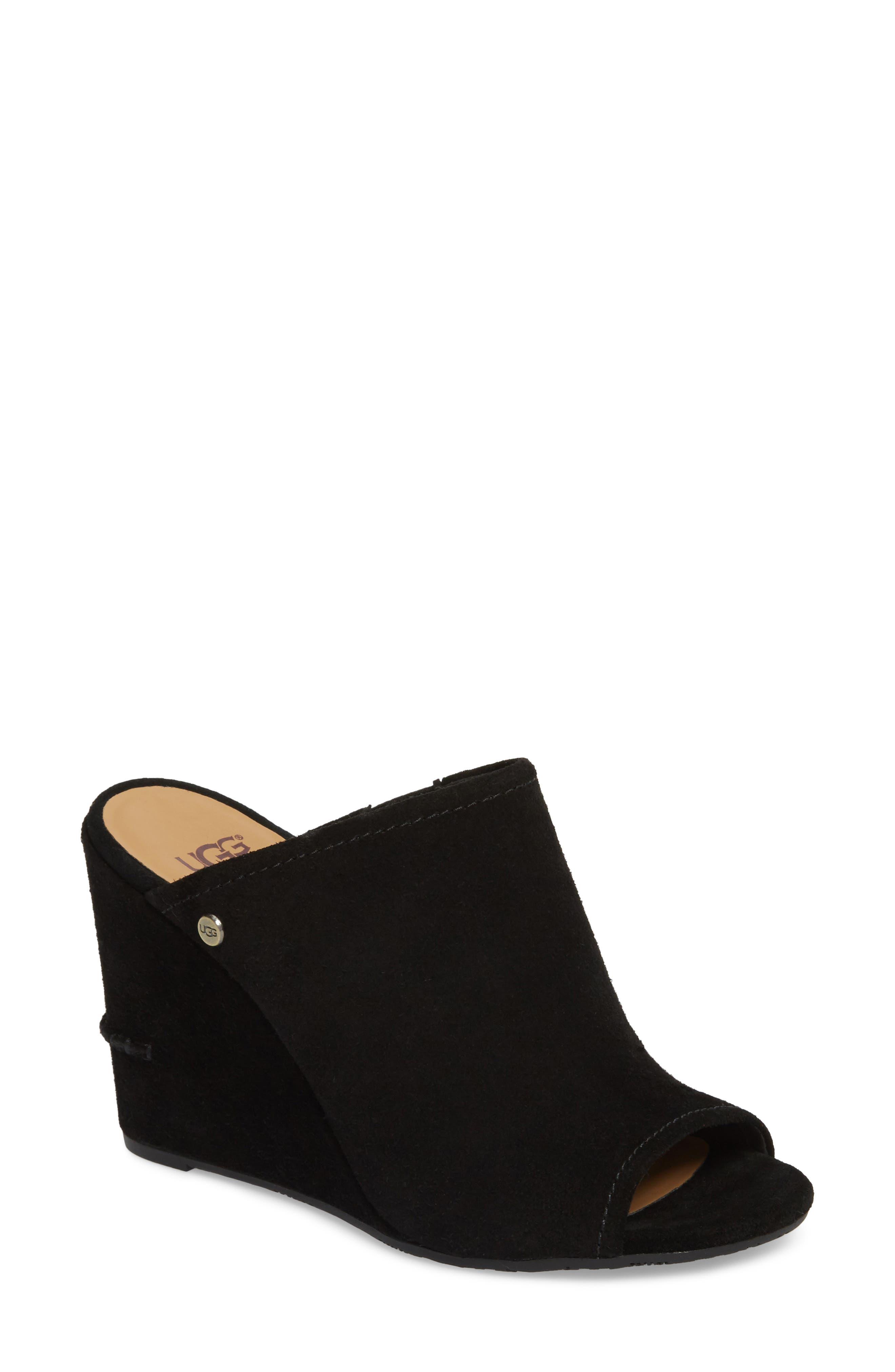 Lively Wedge Slide Sandal,                         Main,                         color, 001