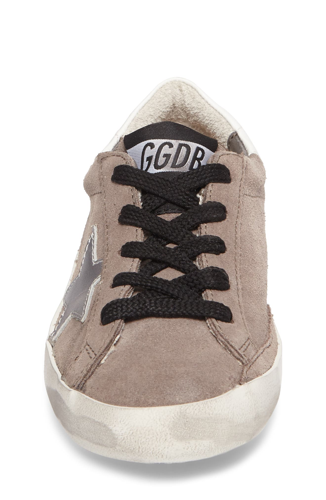 Superstar Low Top Sneaker,                             Alternate thumbnail 4, color,                             030