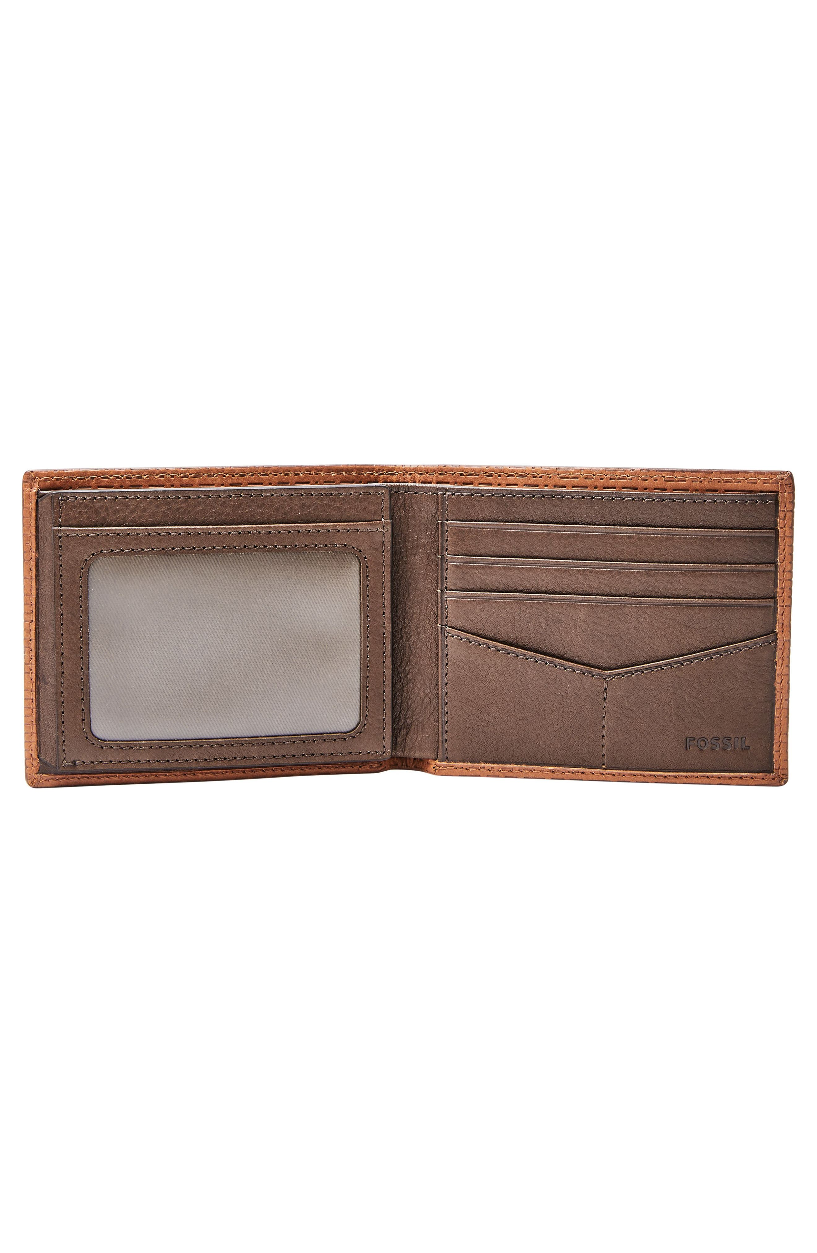 Coby Leather Wallet,                             Alternate thumbnail 2, color,