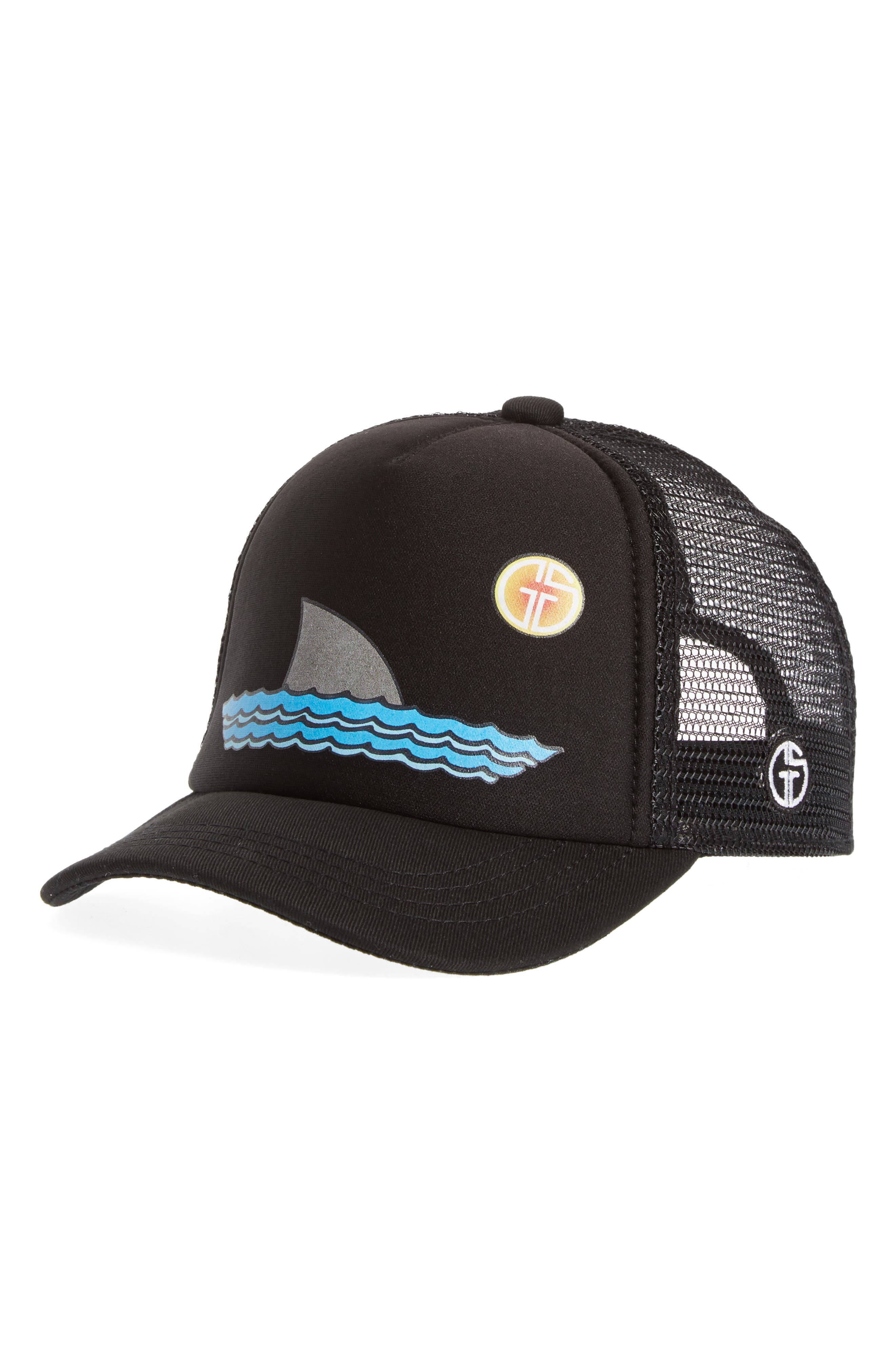 Toddler Boys Grom Squad Trucker Hat  Black