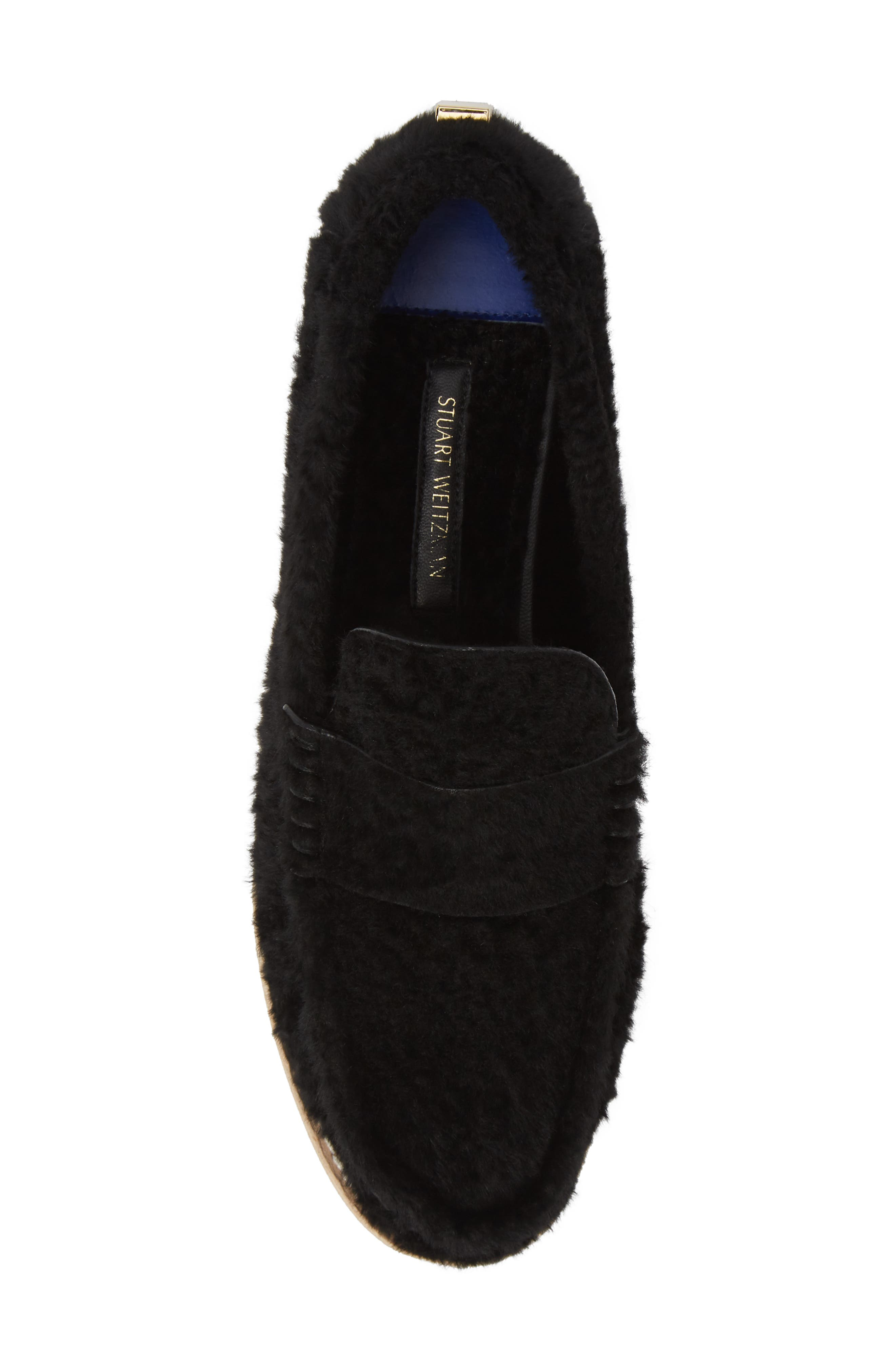 Bromley Genuine Shearling Loafer,                             Alternate thumbnail 14, color,