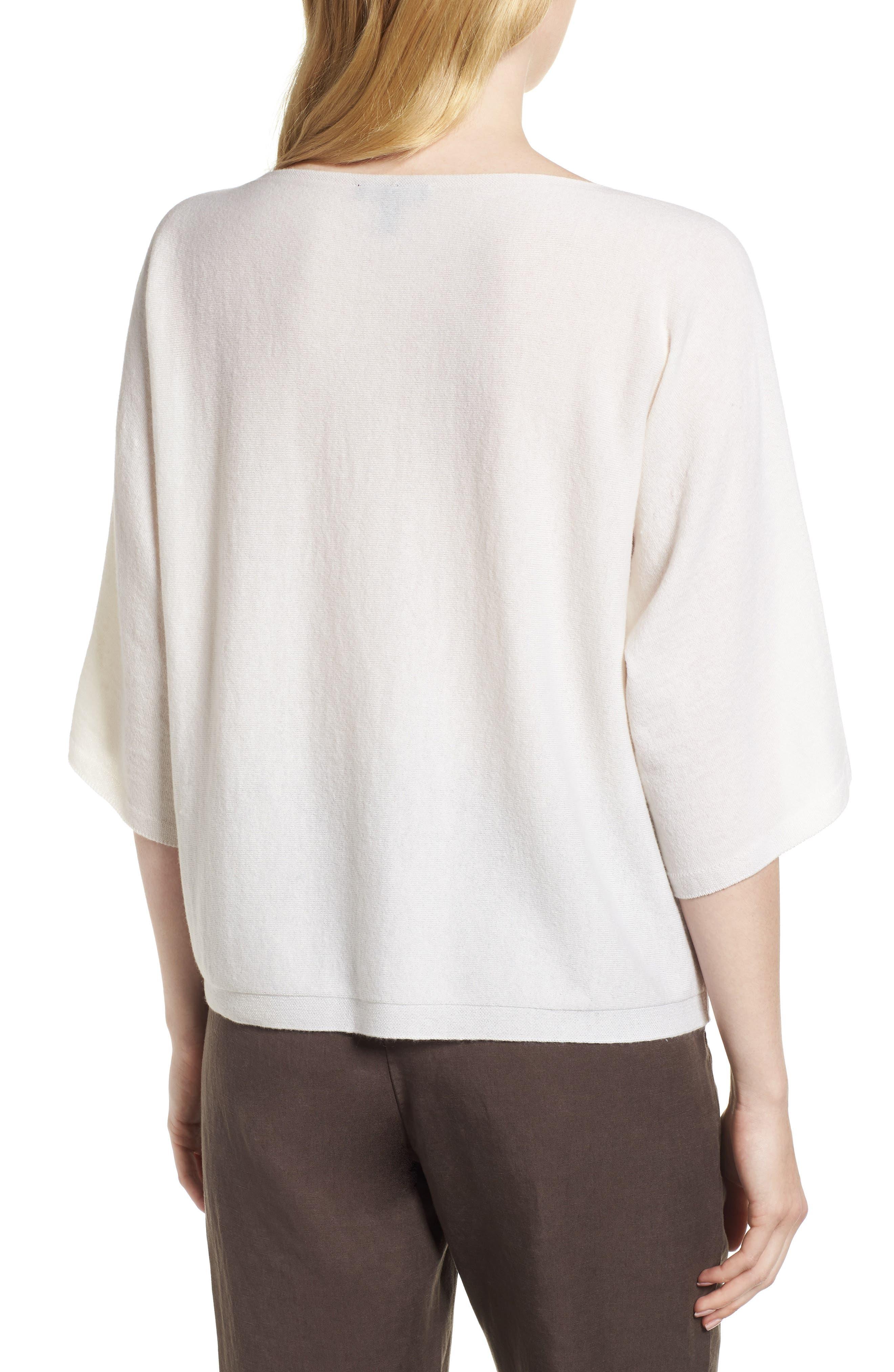 Cashmere Sweater,                             Alternate thumbnail 4, color,