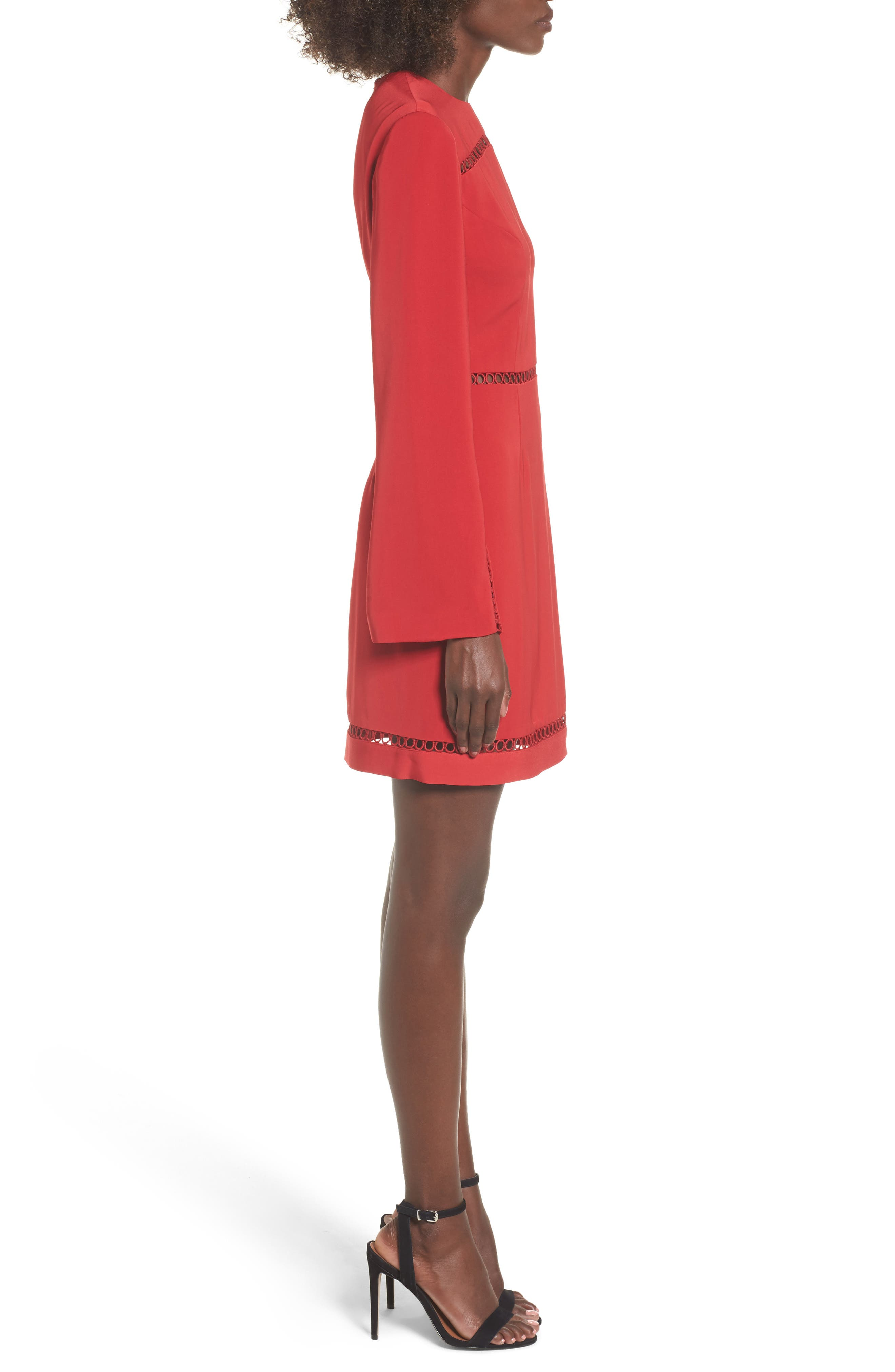 Indulge Sheath Dress,                             Alternate thumbnail 3, color,                             600