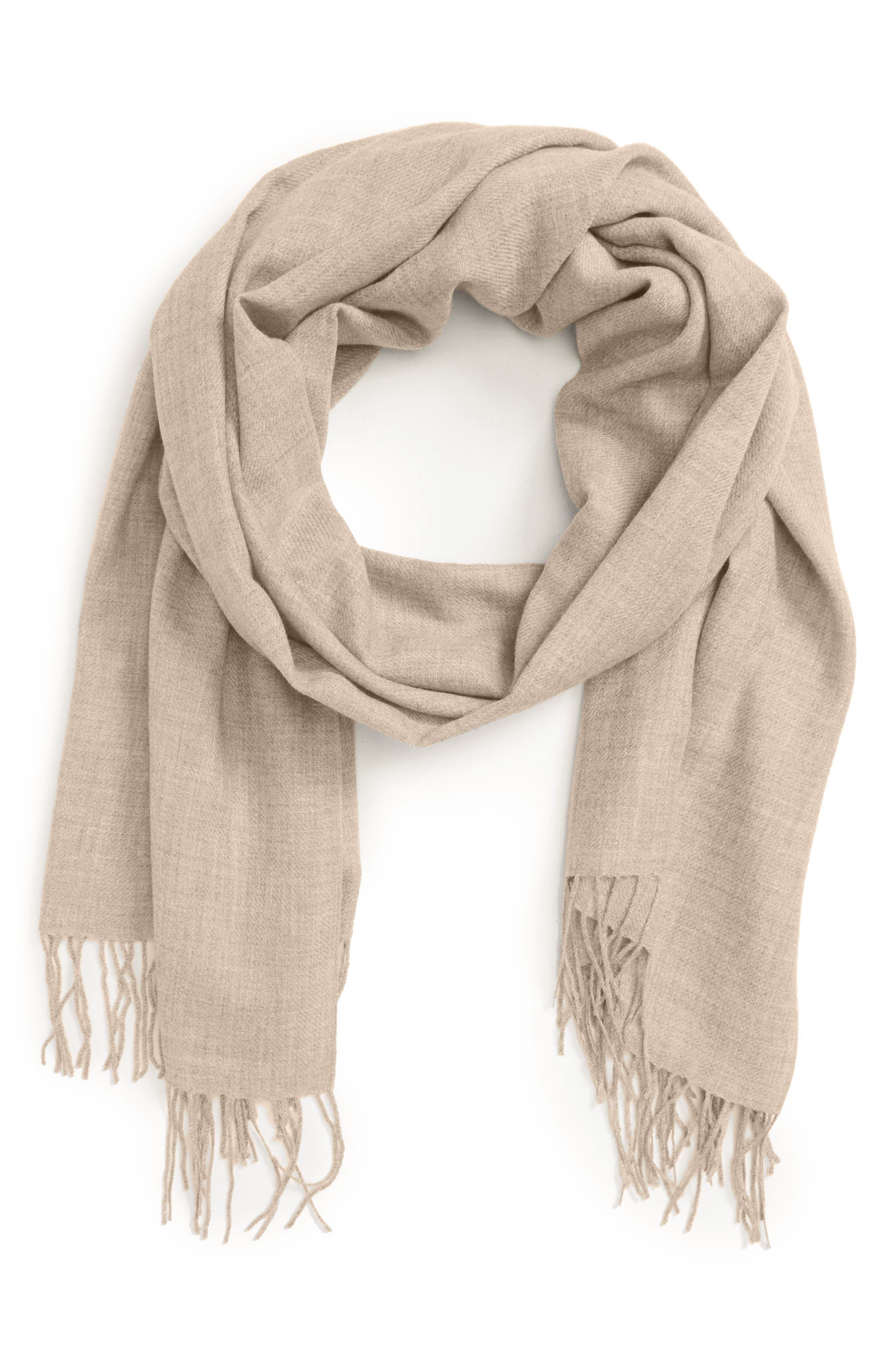 Tissue Weight Wool & Cashmere Scarf,                             Alternate thumbnail 96, color,