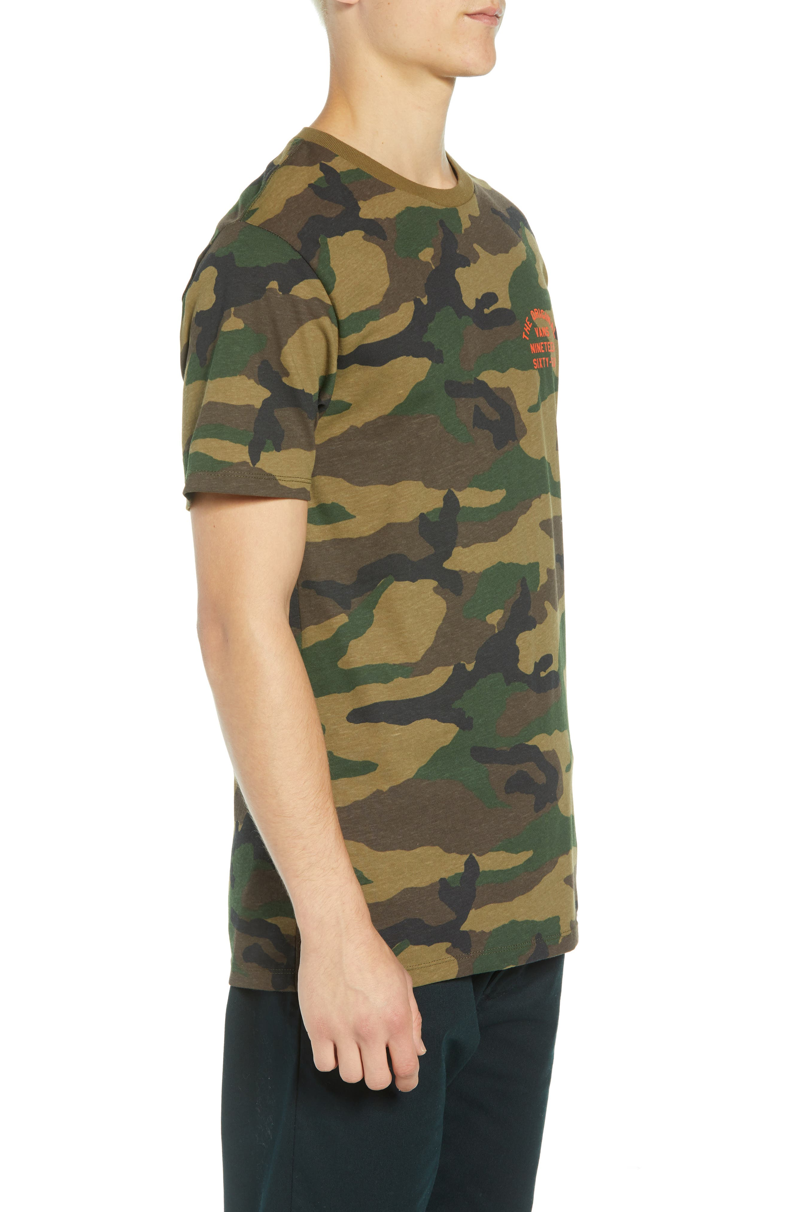 VANS,                             Spring Training T-Shirt,                             Alternate thumbnail 3, color,                             300