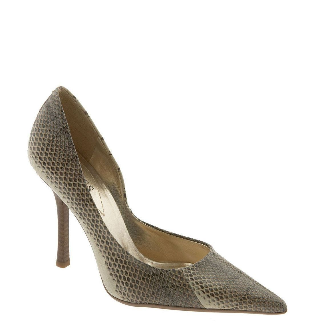 'Carrie' Patent Leather Pump,                             Main thumbnail 1, color,                             NSS