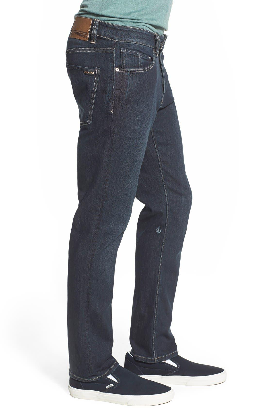 'Vorta' Slim Fit Jeans,                             Alternate thumbnail 14, color,