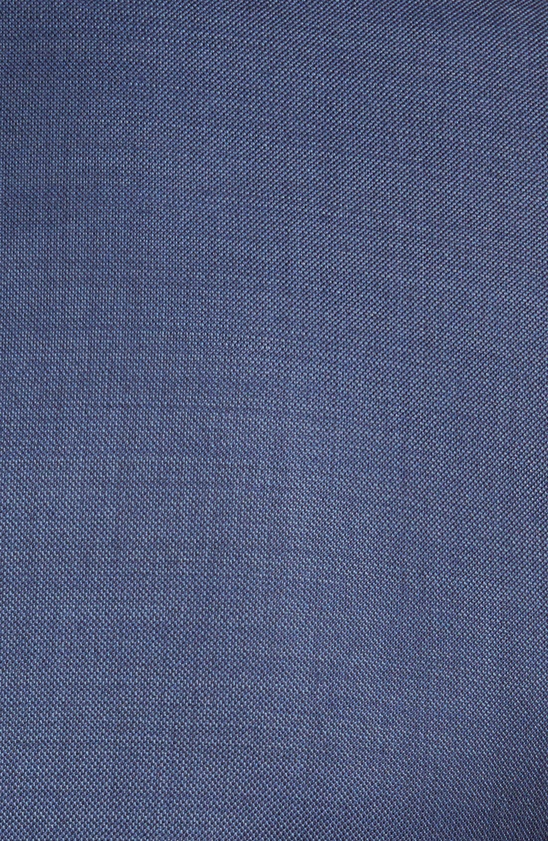 PETER MILLAR,                             Flynn Classic Fit Wool Suit,                             Alternate thumbnail 8, color,                             BLUE