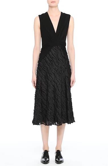 Chevron Fringe Fil Coupé Dress, video thumbnail
