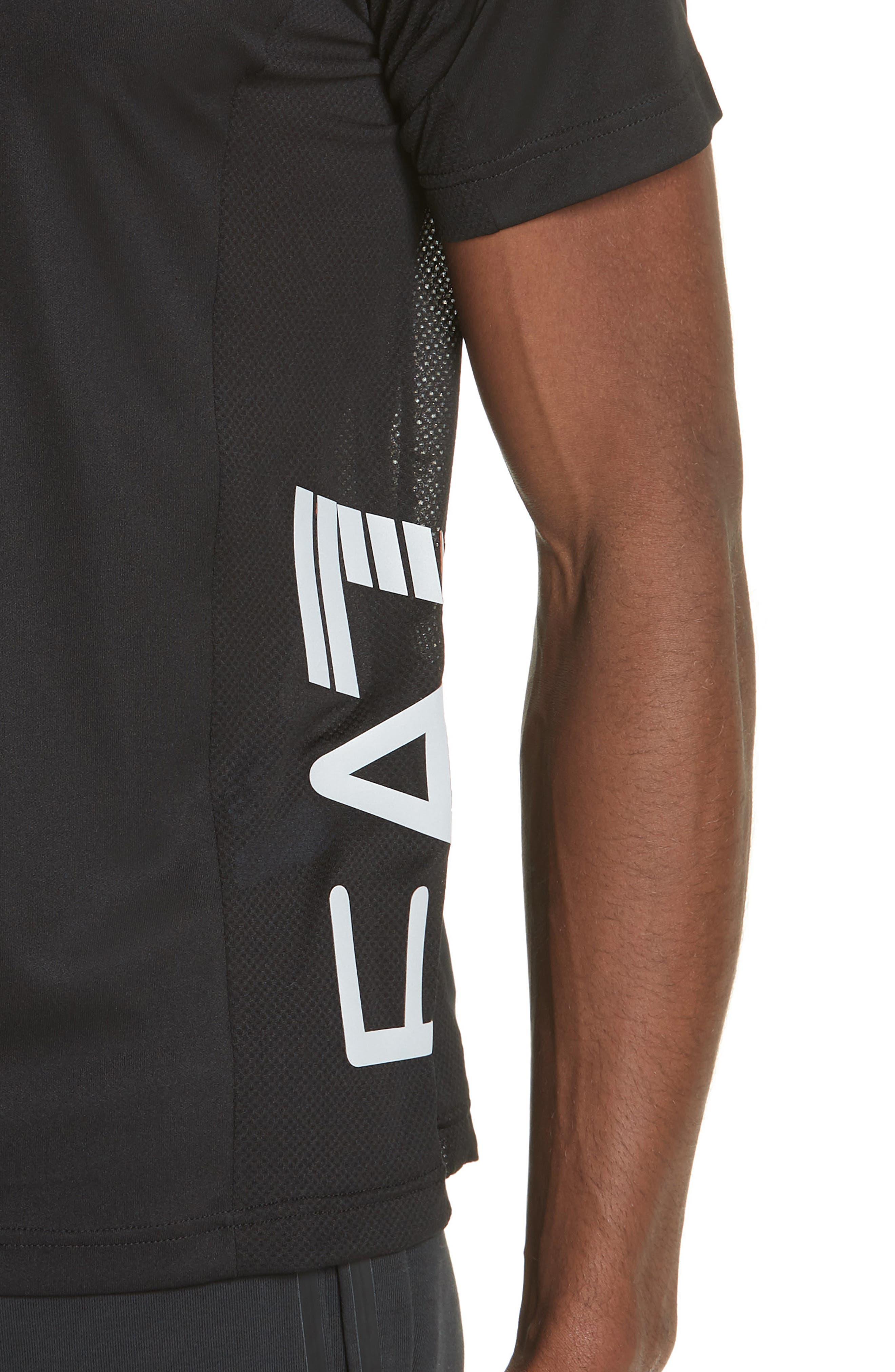 Ventus Crewneck T-Shirt,                             Alternate thumbnail 2, color,                             BLACK