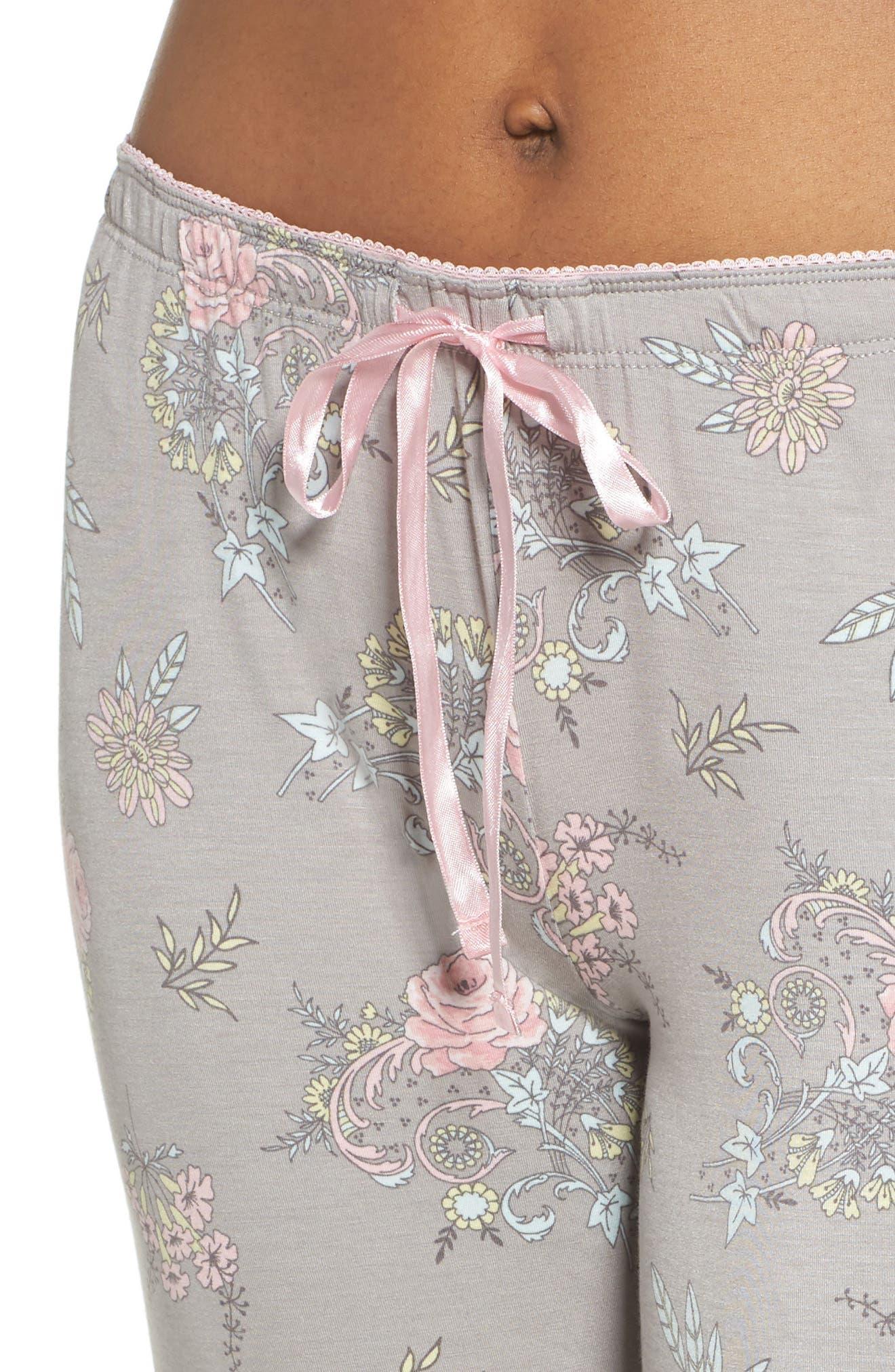 Drawstring Pajama Pants,                             Alternate thumbnail 4, color,                             020