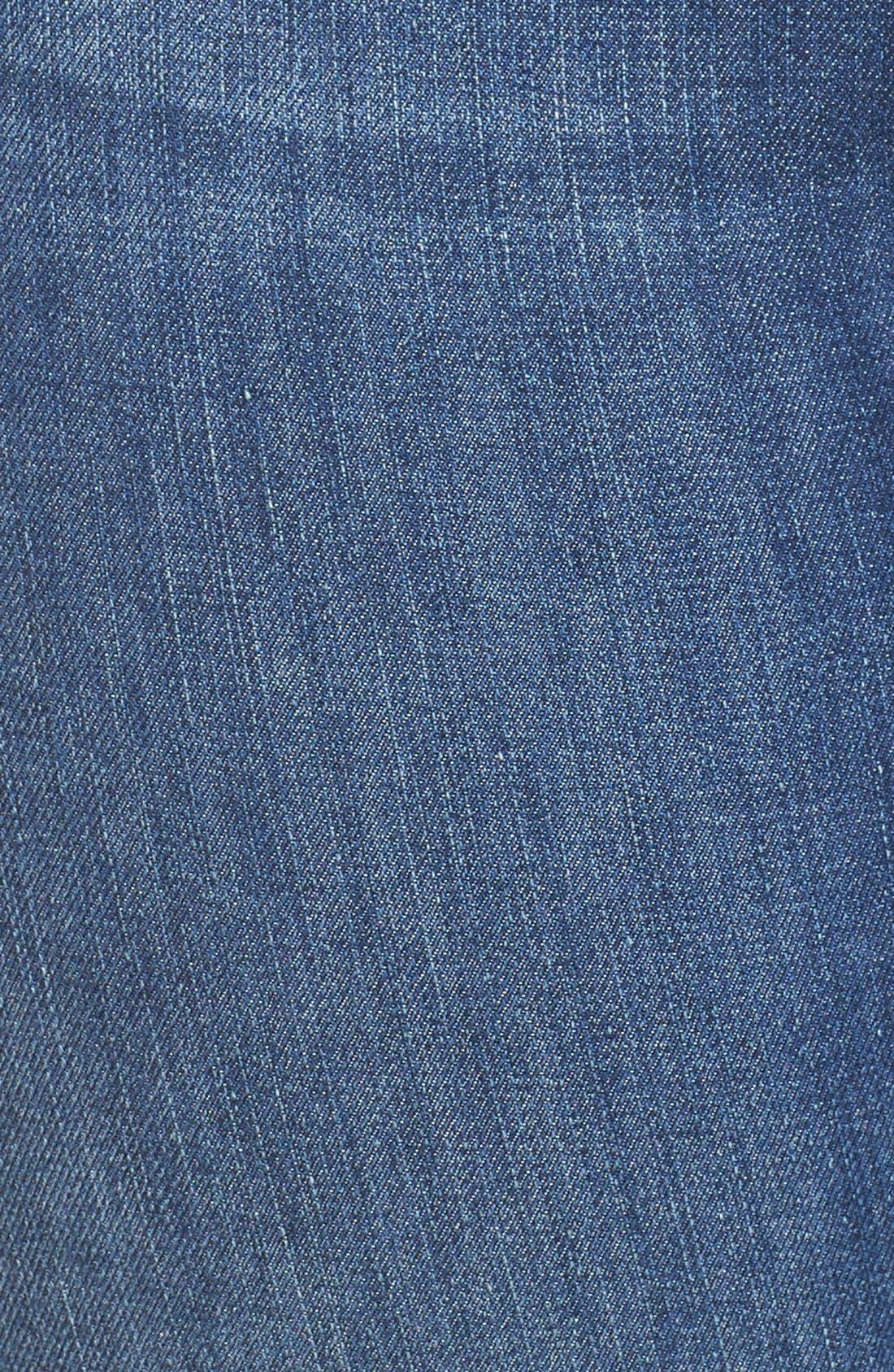 Good Legs High Rise Crop Released Hem Skinny Jeans,                             Alternate thumbnail 7, color,                             401