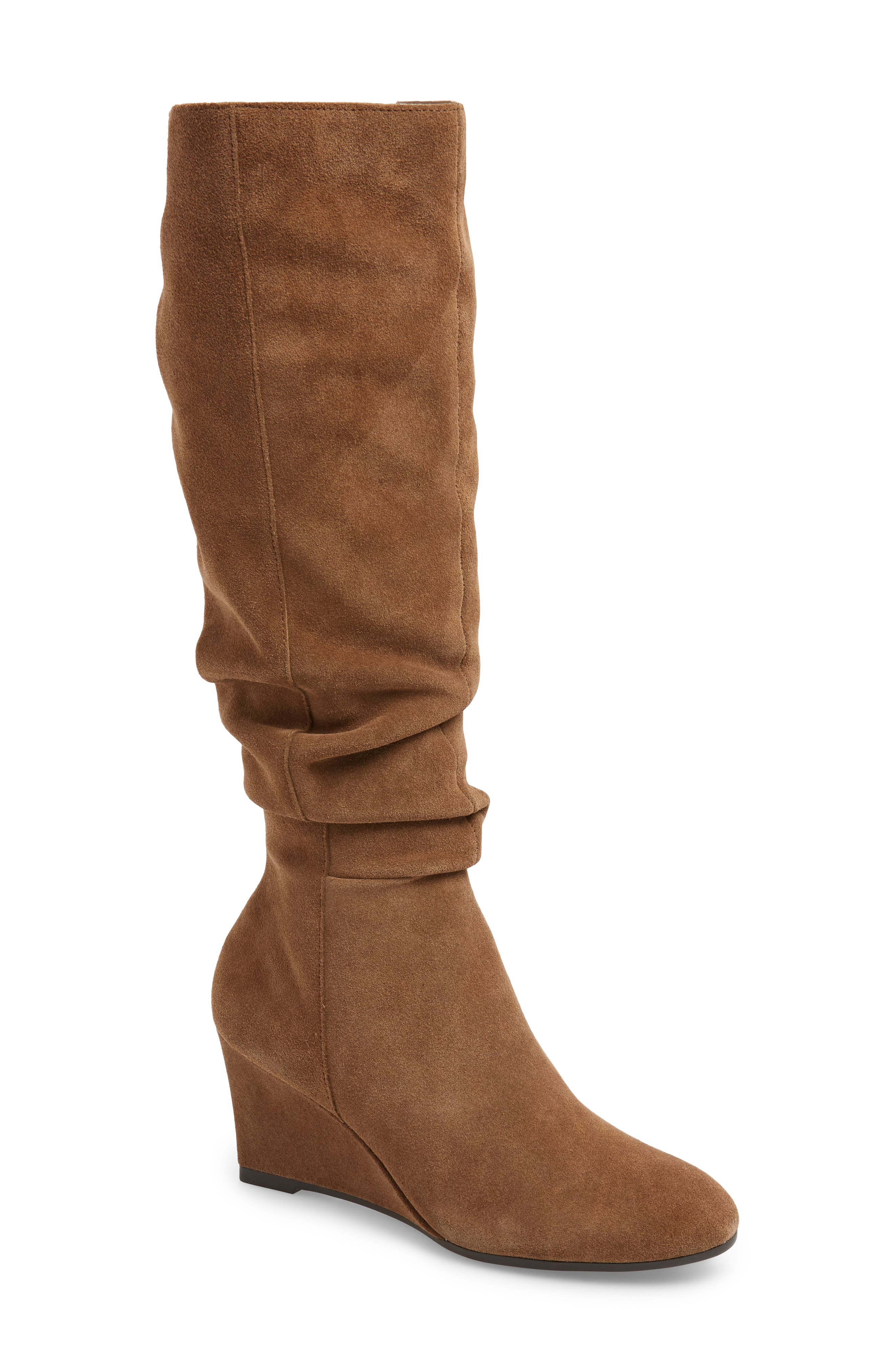 Bettye Muller Concepts Carole Knee High Boot- Beige