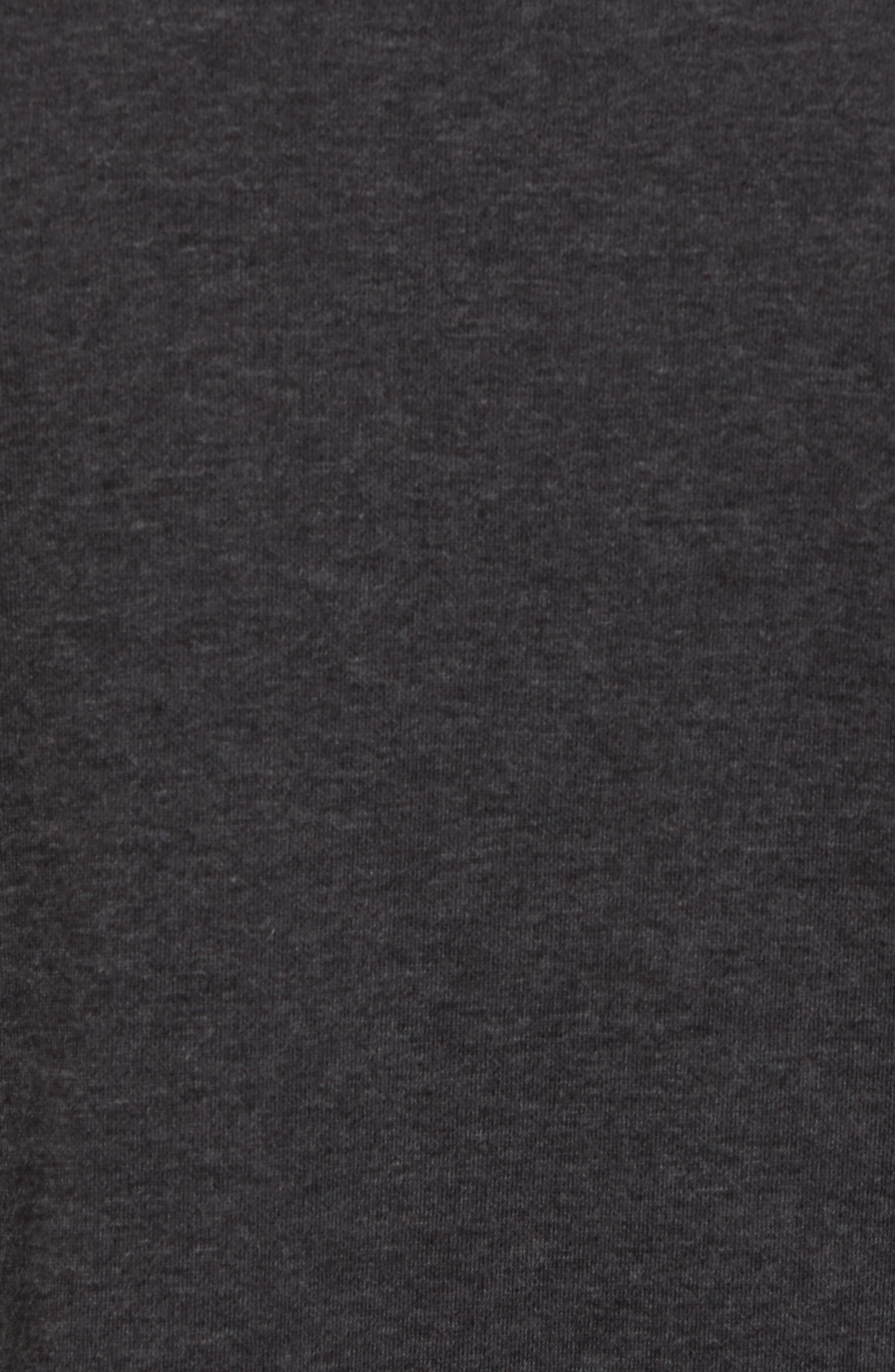 Mock Neck Long Sleeve Running T-Shirt,                             Alternate thumbnail 5, color,                             010