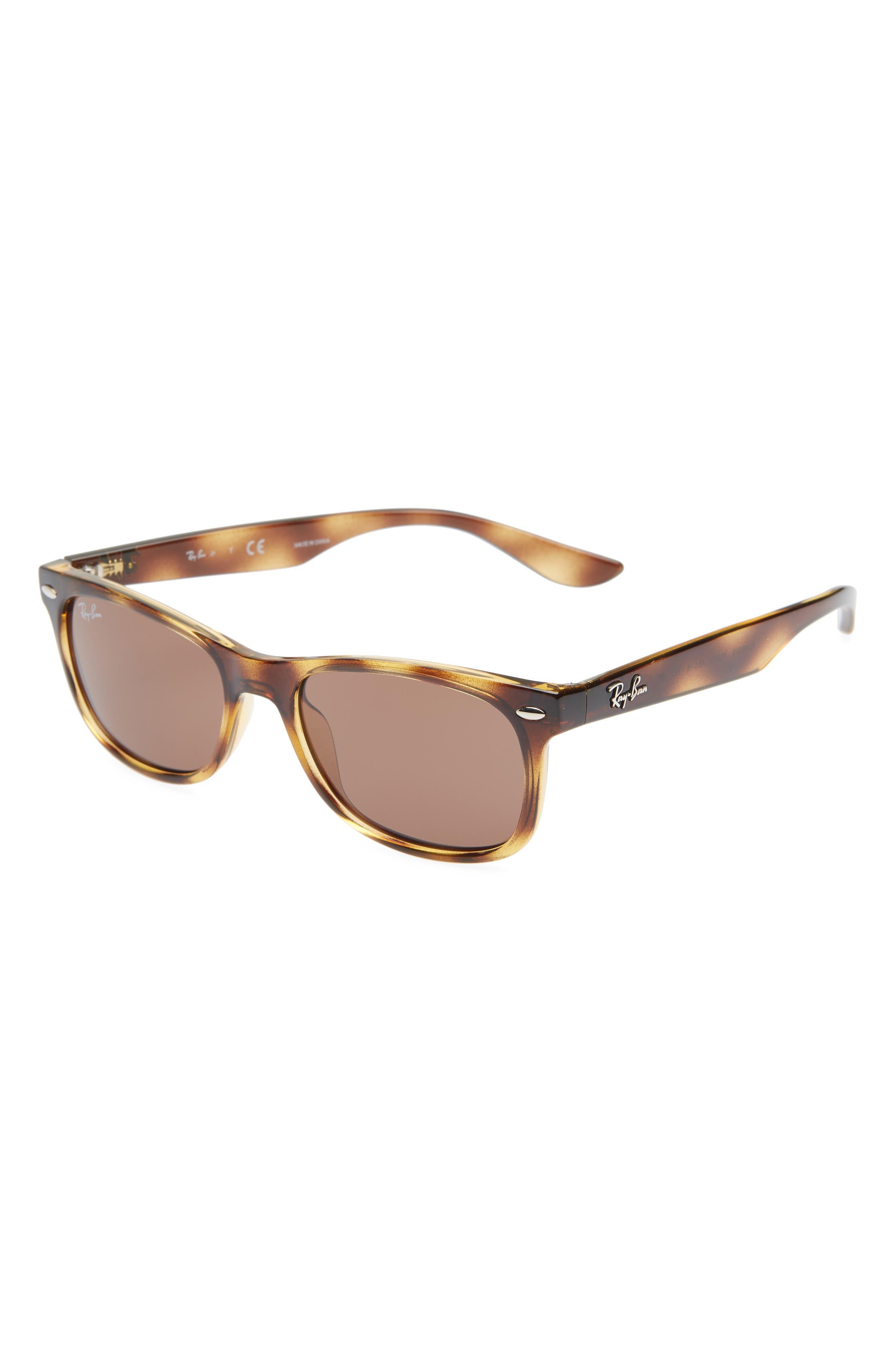 Ray-Ban Junior 4m Wayfarer Sunglasses - Havana Solid