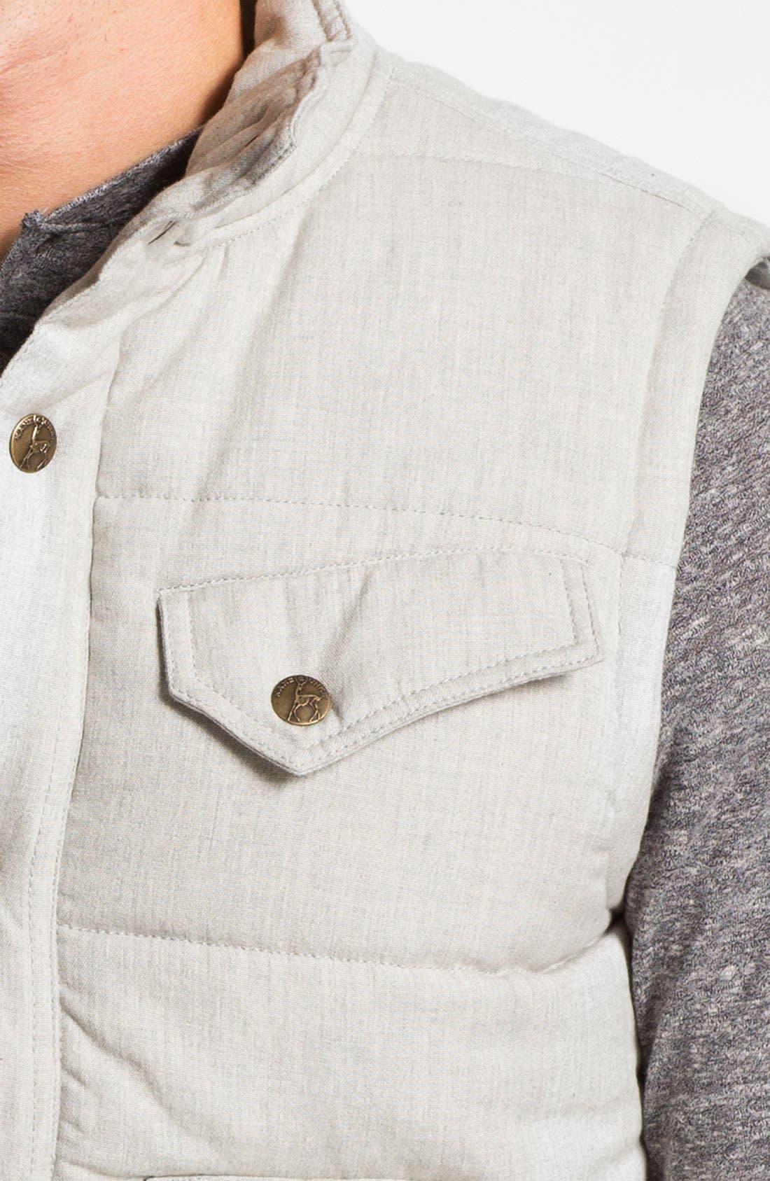 Quilted Cotton Vest,                             Alternate thumbnail 4, color,