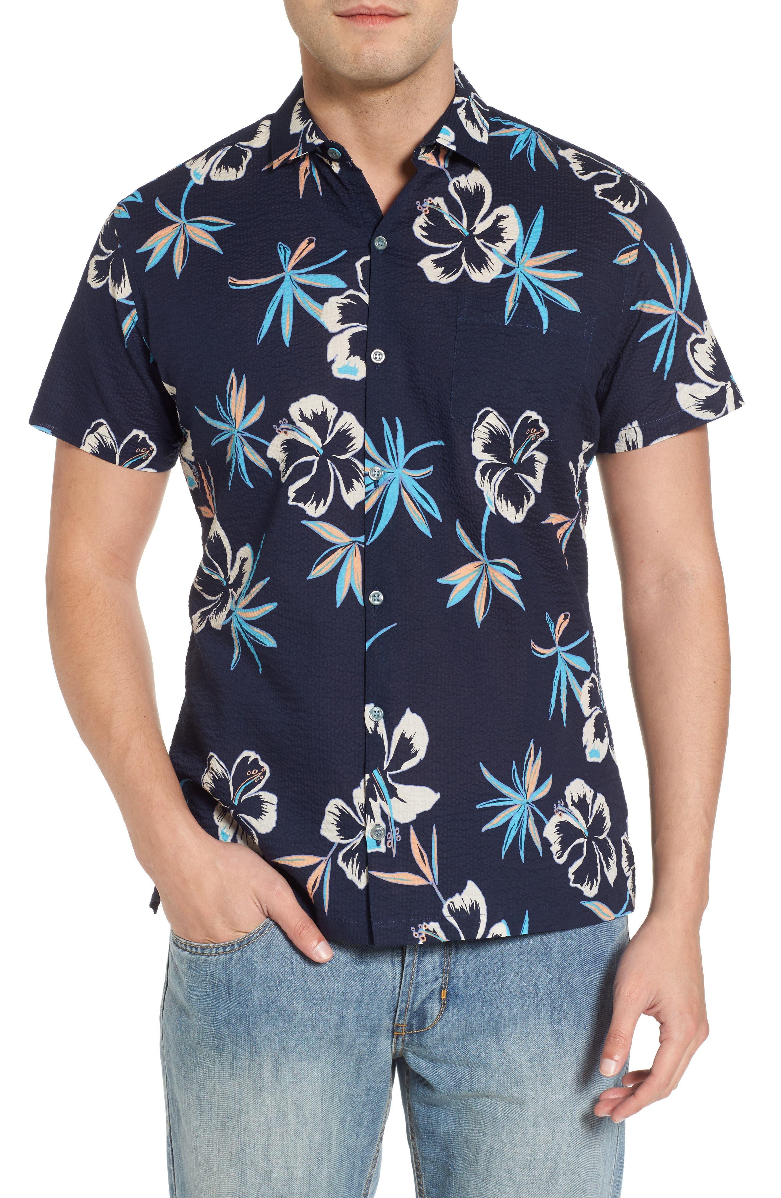So Fresh Trim Fit Cotton Lawn Sport Shirt,                         Main,                         color, 415