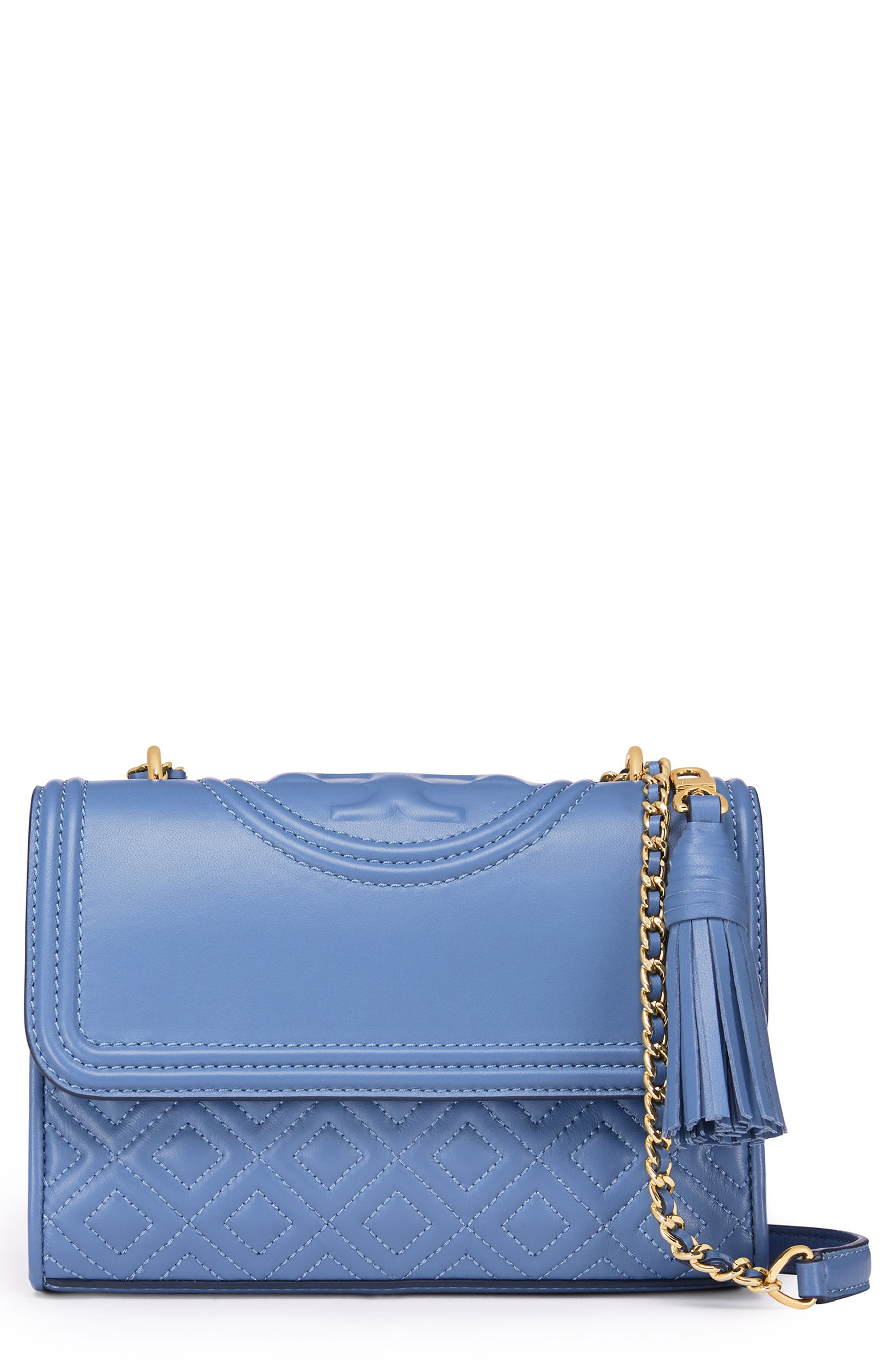 Fleming Convertible Leather Shoulder Bag,                             Main thumbnail 1, color,                             401