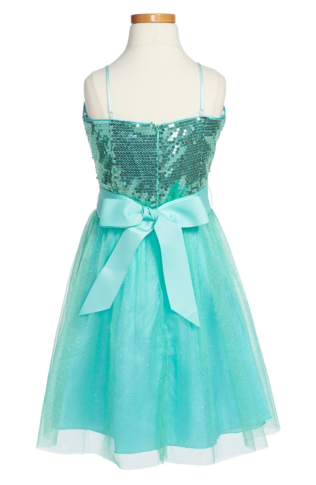 Sequin Party Dress,                             Alternate thumbnail 4, color,