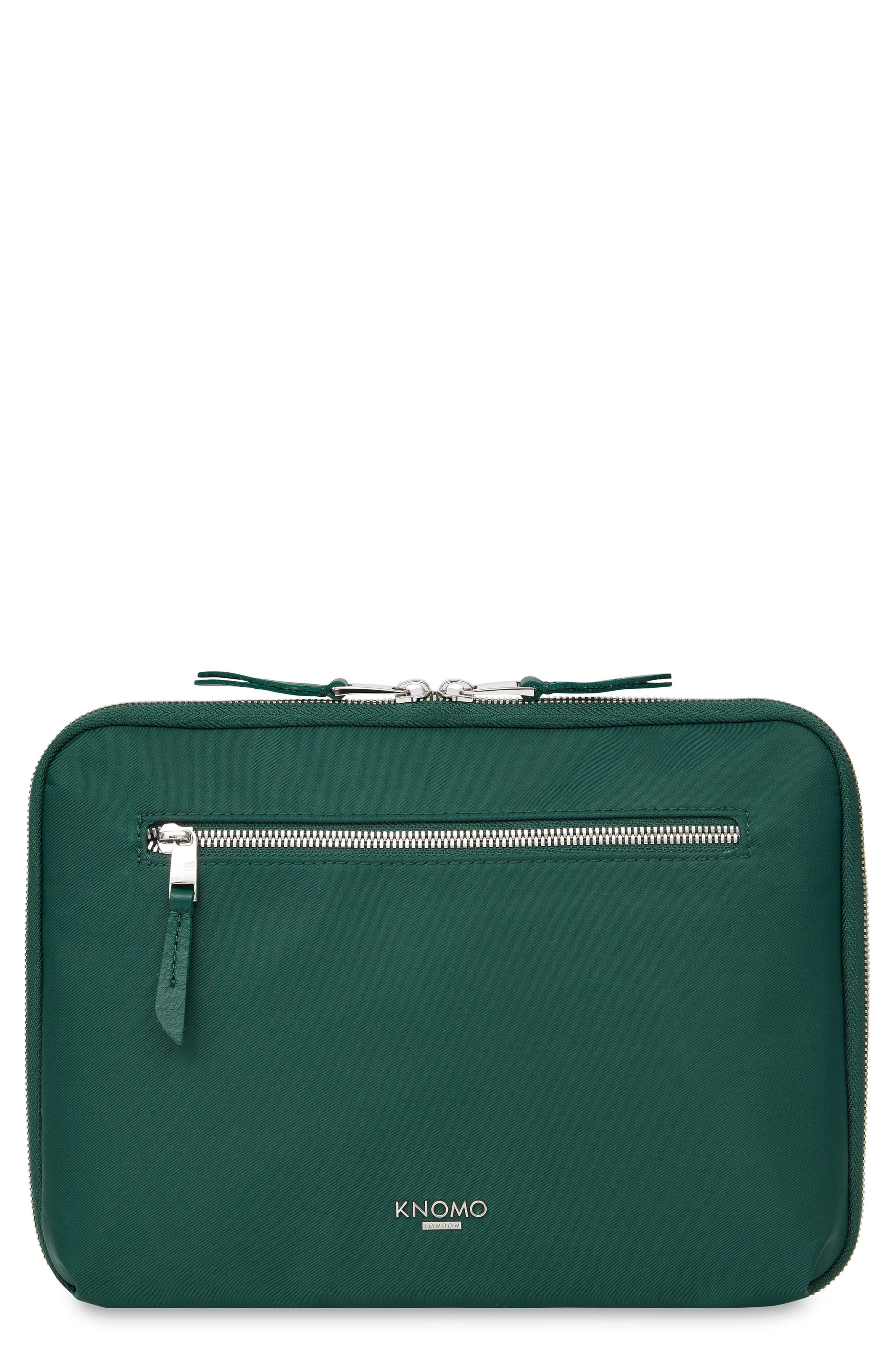 Mayfair 10-Inch Portfolio,                             Main thumbnail 1, color,                             PINE GREEN