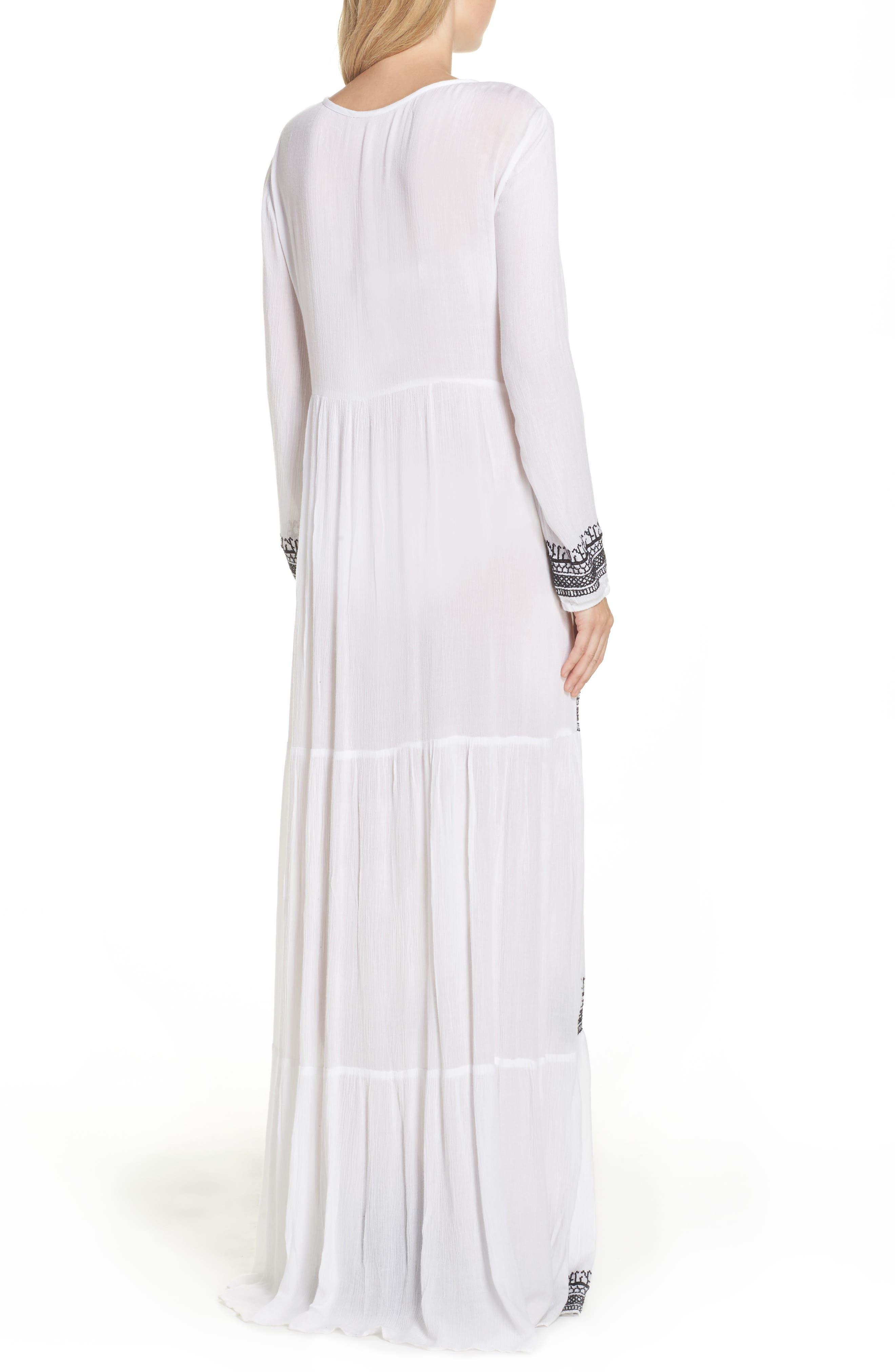 Gitana Maxi Cover-Up Dress,                             Alternate thumbnail 2, color,