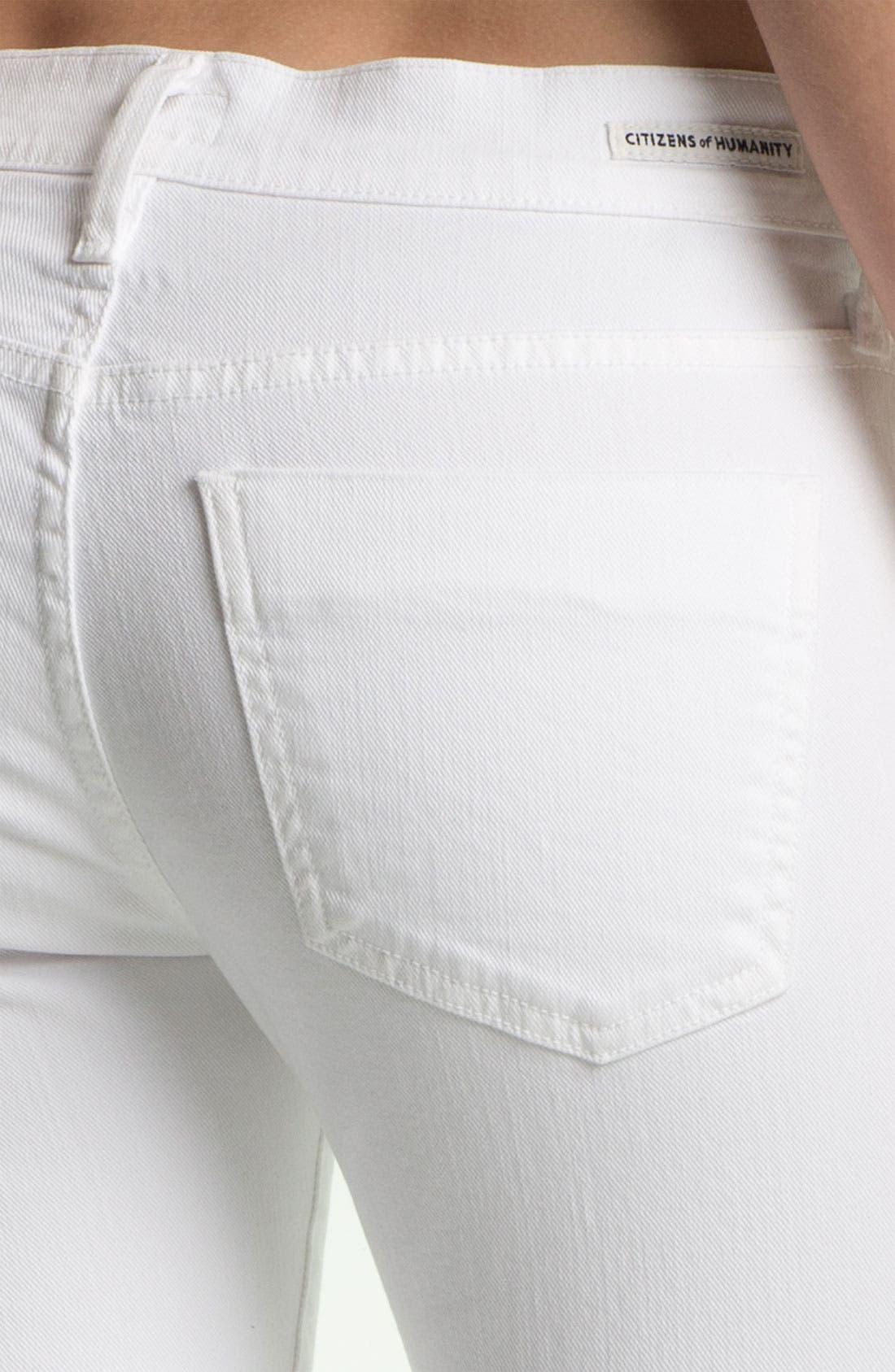 'Emmanuelle' Slim Bootcut Jeans,                             Alternate thumbnail 2, color,