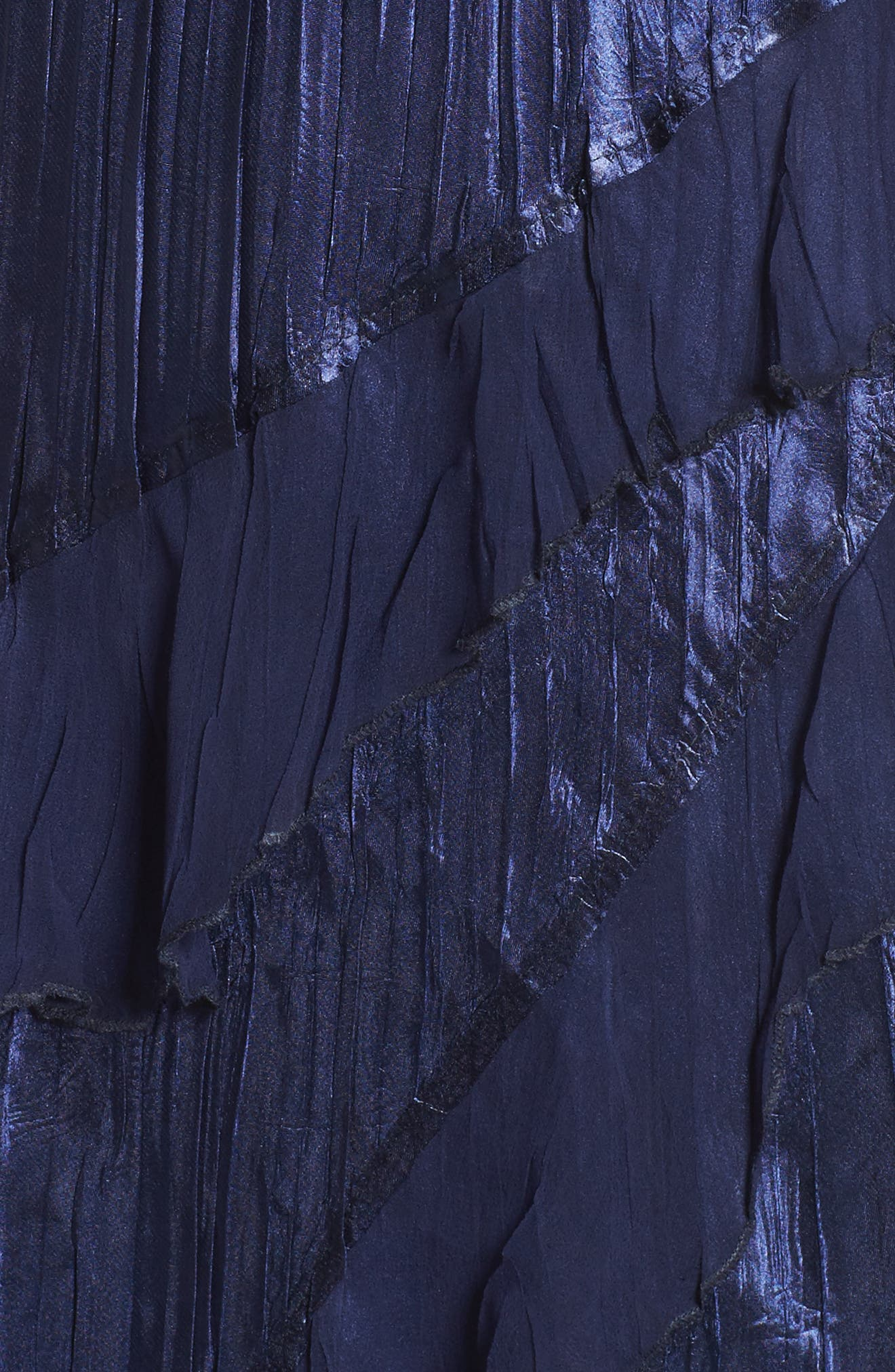 Ruffle Maxi Dress with Wrap,                             Alternate thumbnail 5, color,