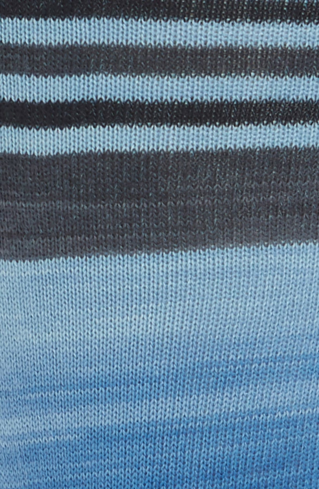 Space Dye Striped Socks,                             Alternate thumbnail 2, color,                             404