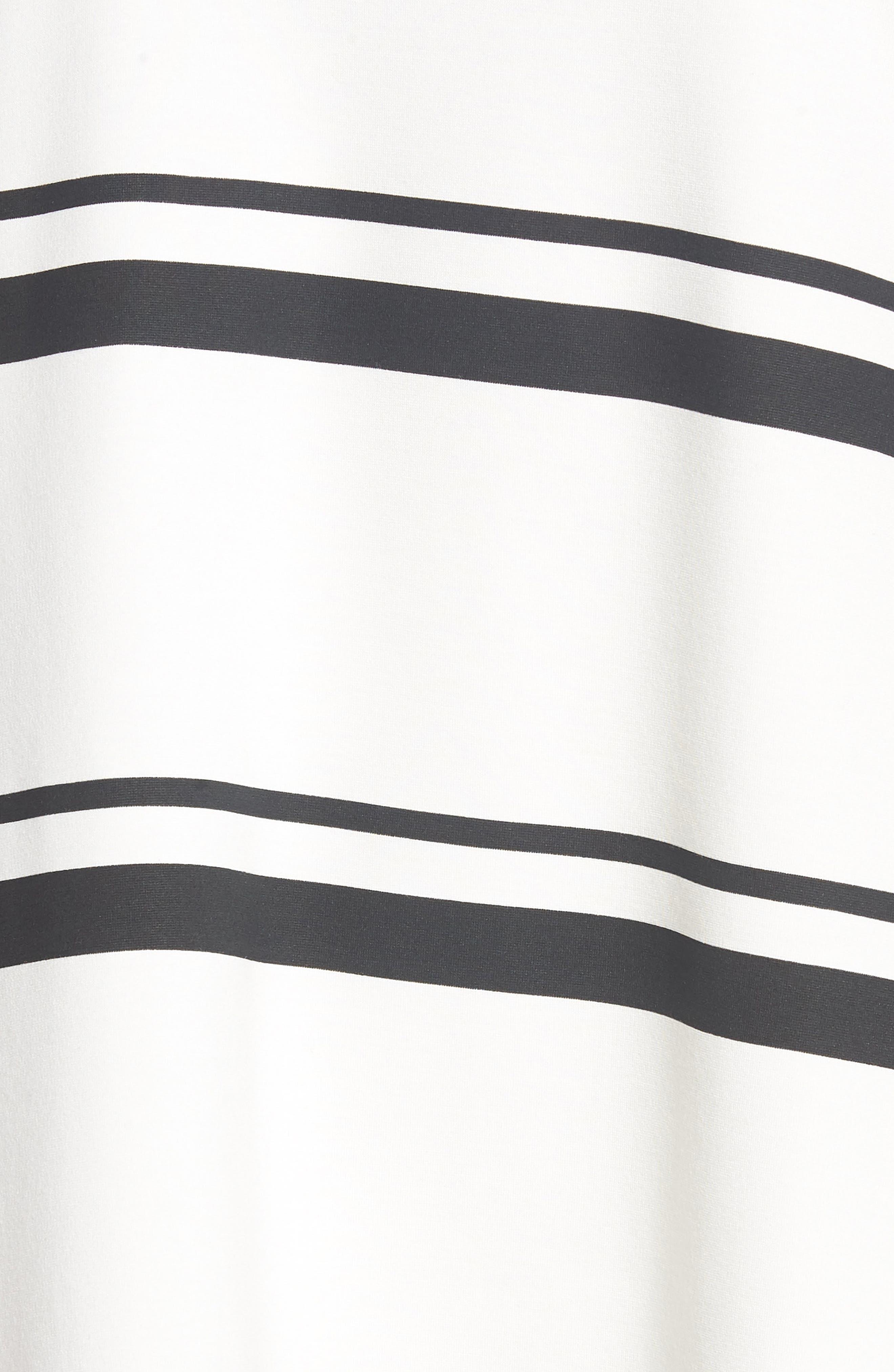 Stripe Swing Dress,                             Alternate thumbnail 6, color,                             001