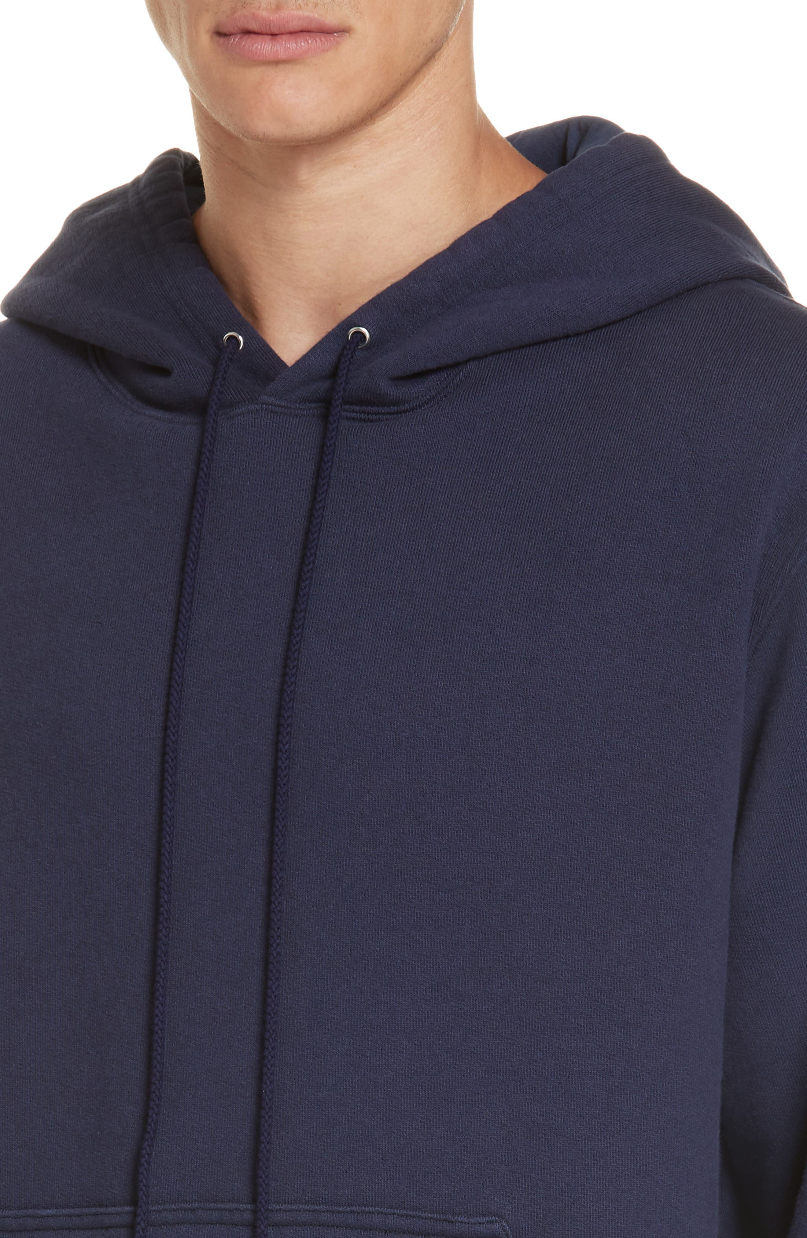 Oversize Hoodie,                             Alternate thumbnail 4, color,                             MARINE